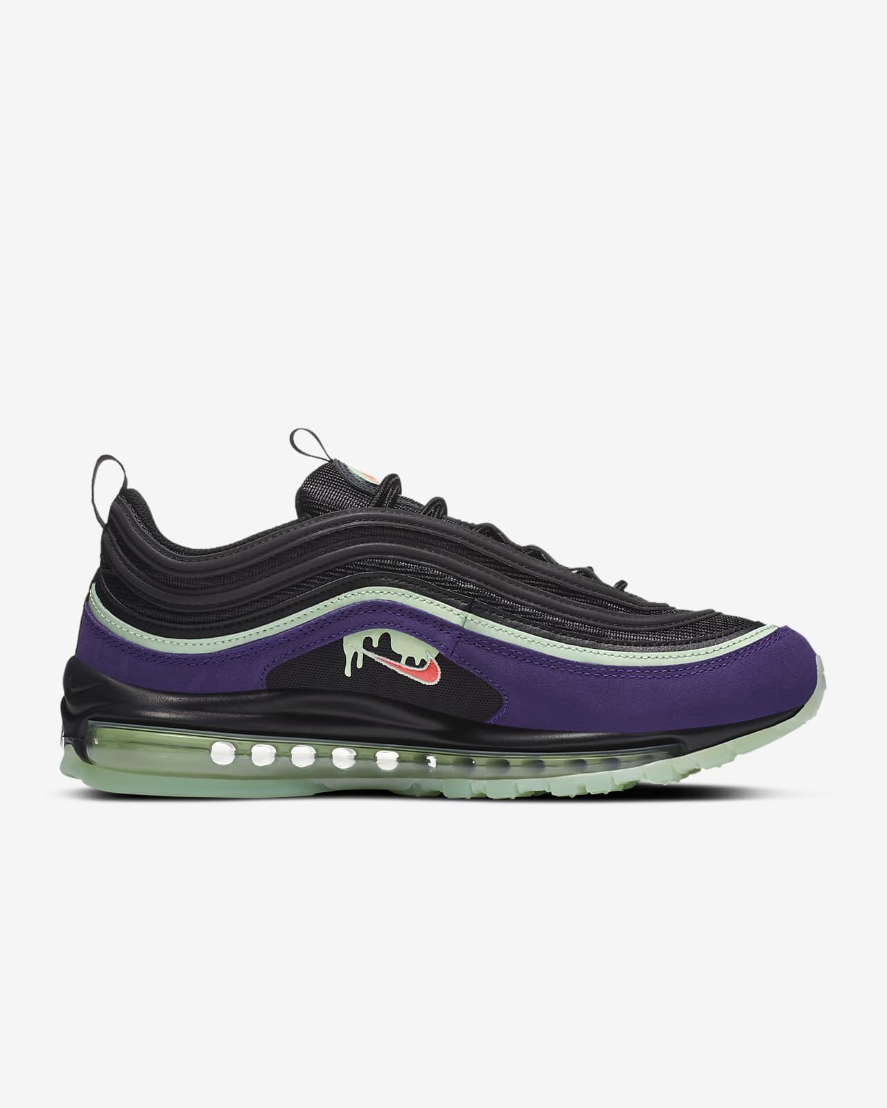 nike 97 purple and black