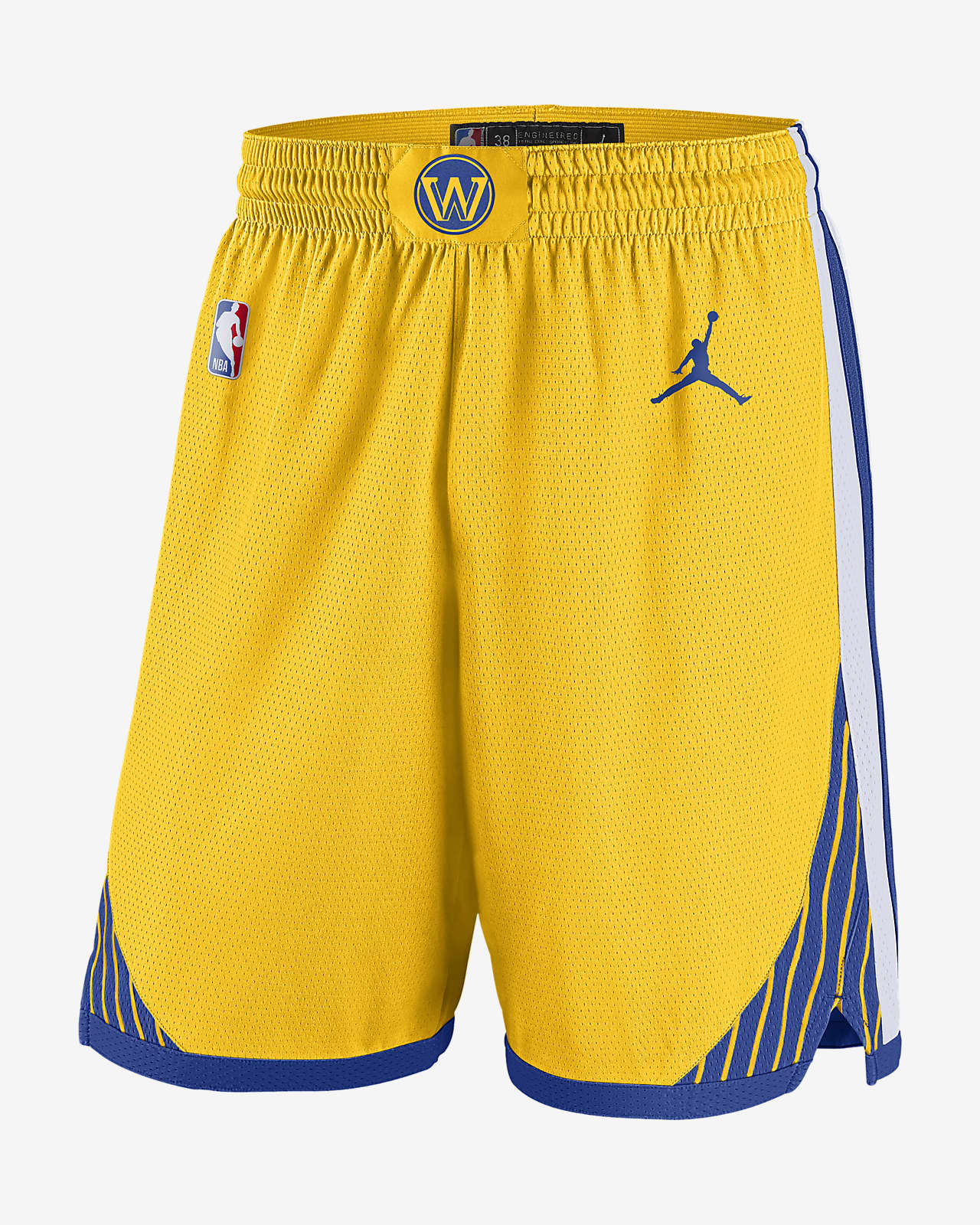 Warriors Statement Edition 2020 Men's Jordan NBA Swingman Shorts