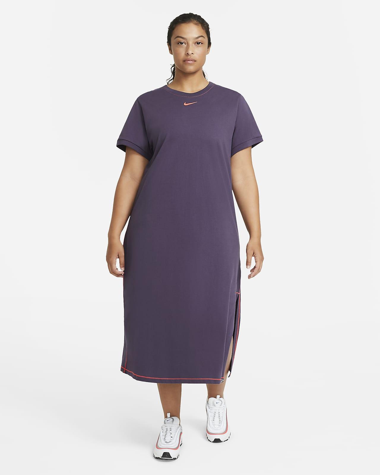 Abito maxi Nike Sportswear Icon Clash (Plus size) - Donna