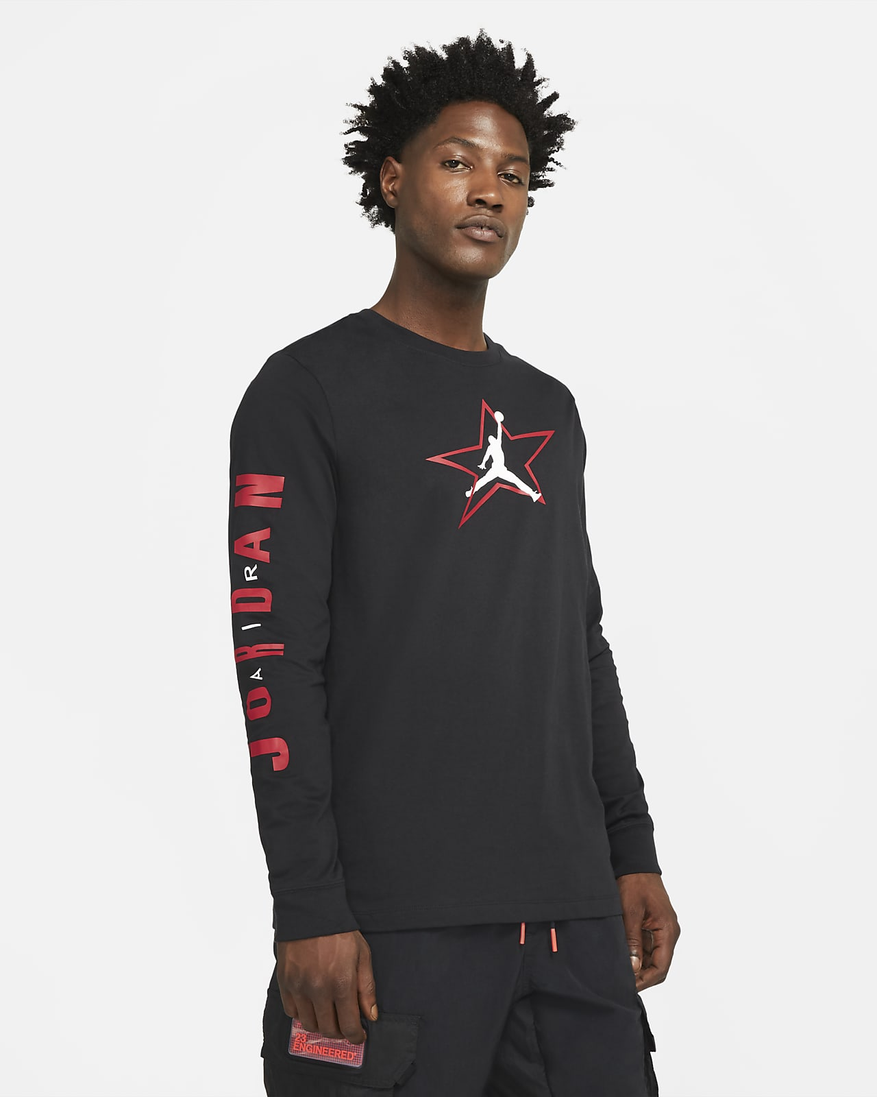 Jordan AJ6 Men's Graphic Long-Sleeve T-Shirt