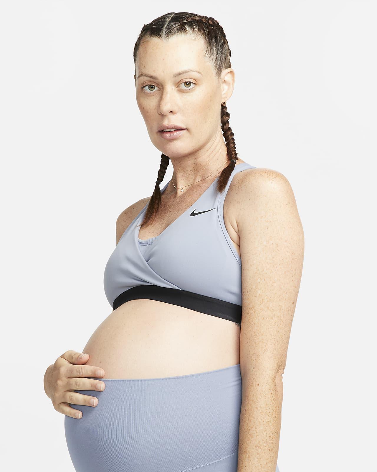 Nike (M) Swoosh sports-BH med innlegg og middels støtte til dame (amme-BH)