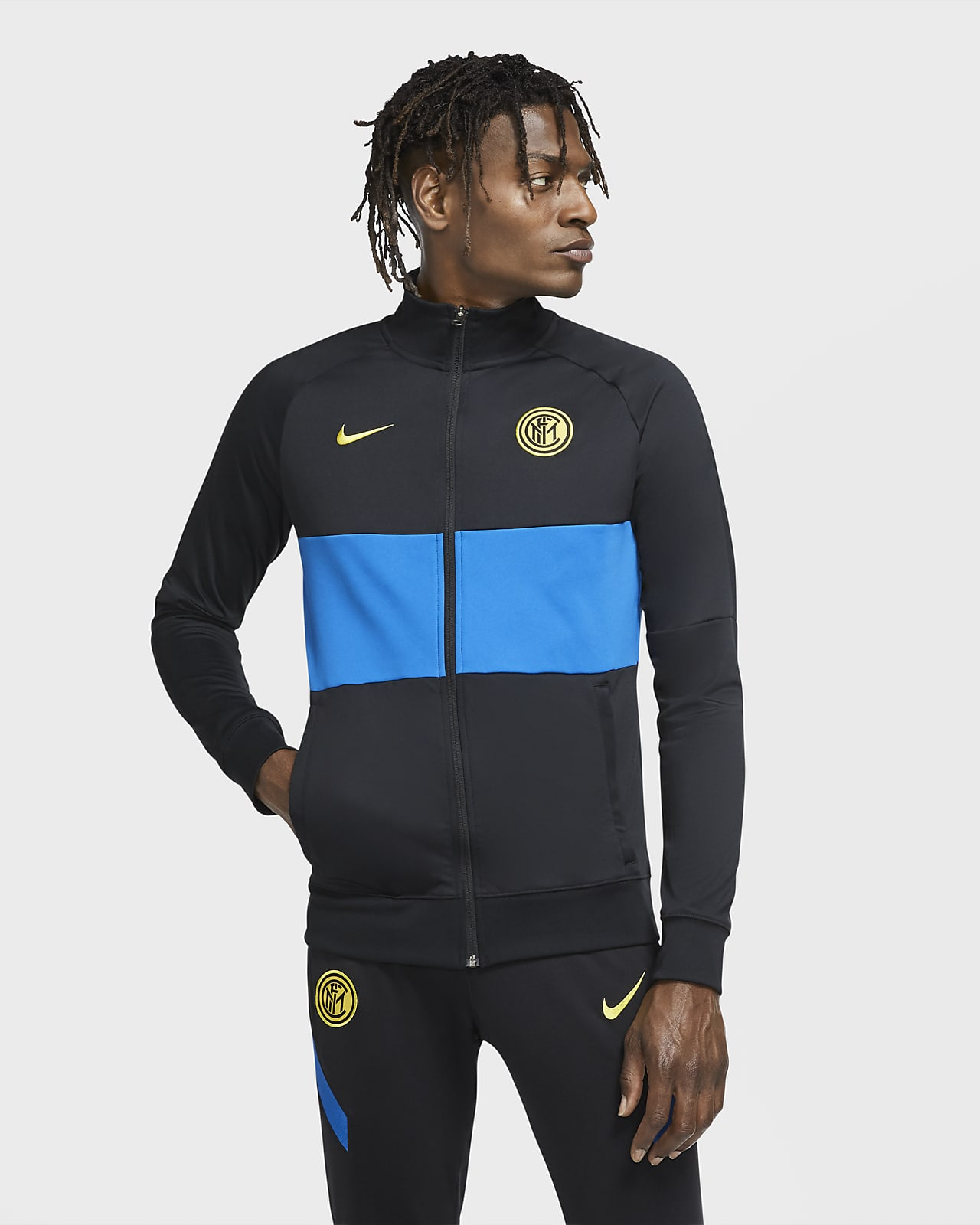 Inter Milan Men's Football Tracksuit Jacket
