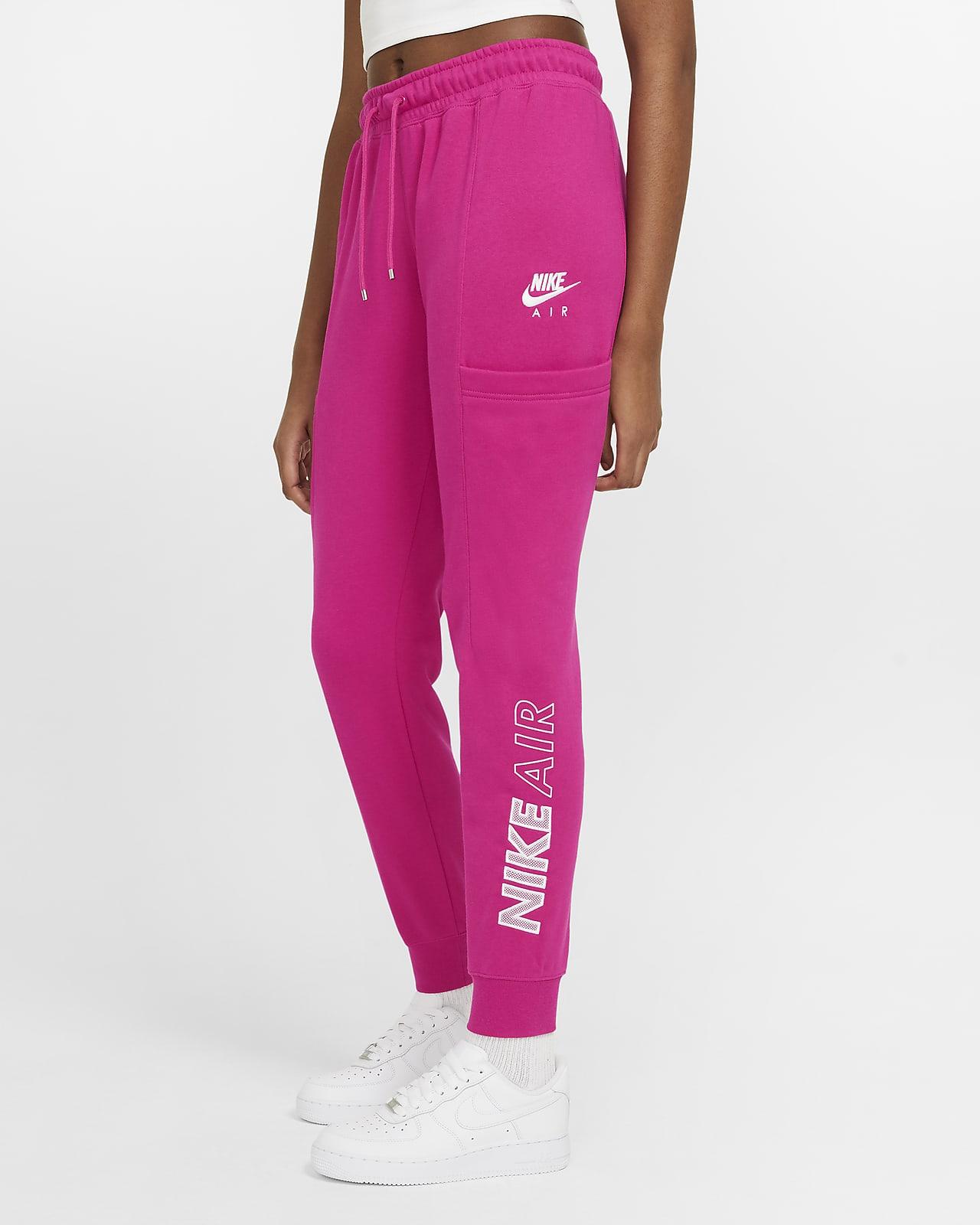 Pantalones De Tejido Fleece Para Mujer Nike Air Nike Cl