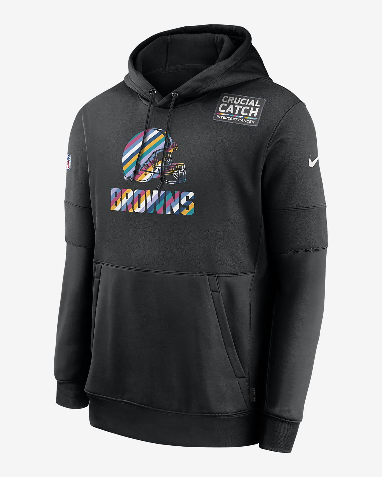 Nike Therma Crucial Catch (NFL Browns) Men's Hoodie