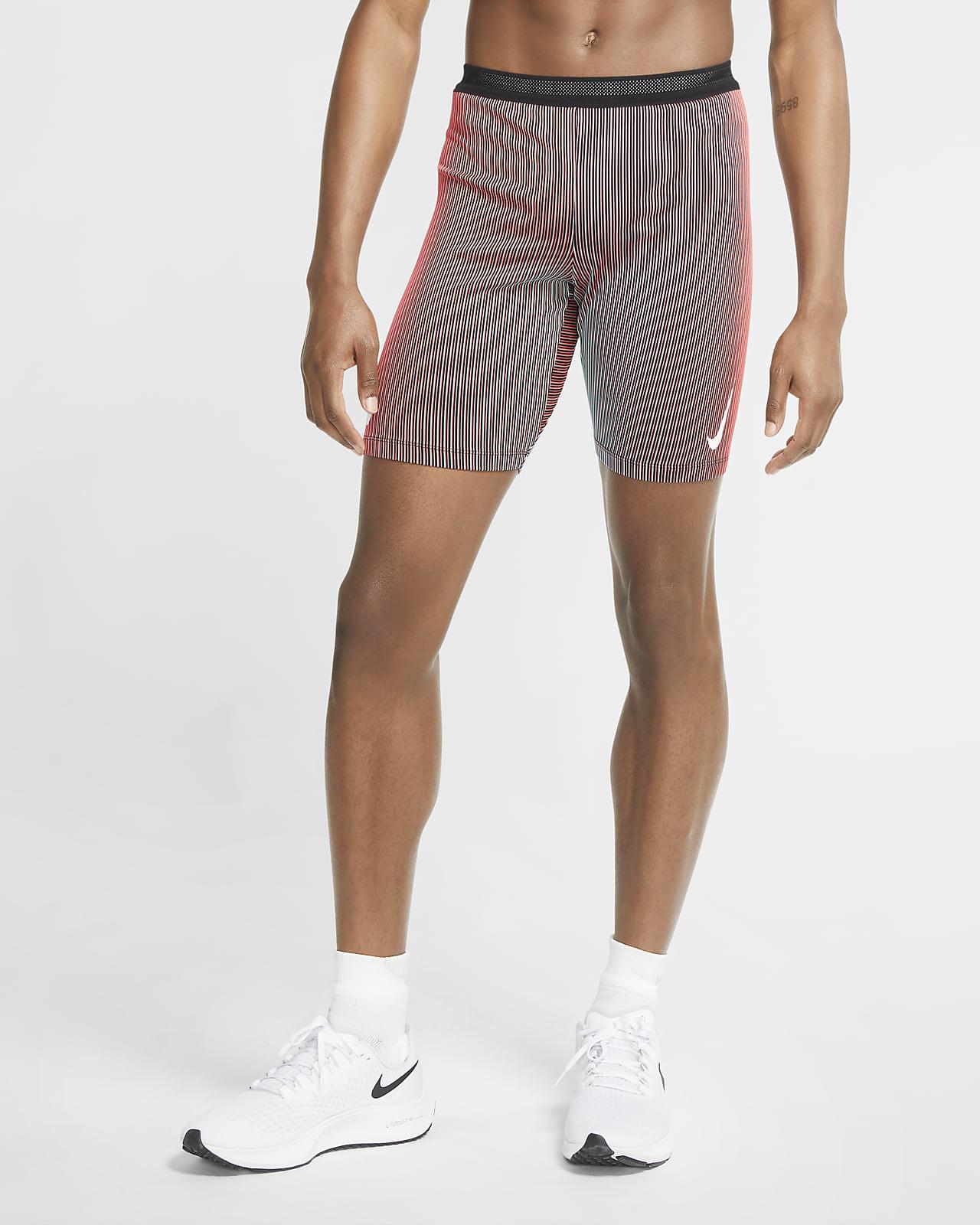 Мужские беговые тайтсы длиной 1/2 Nike AeroSwift