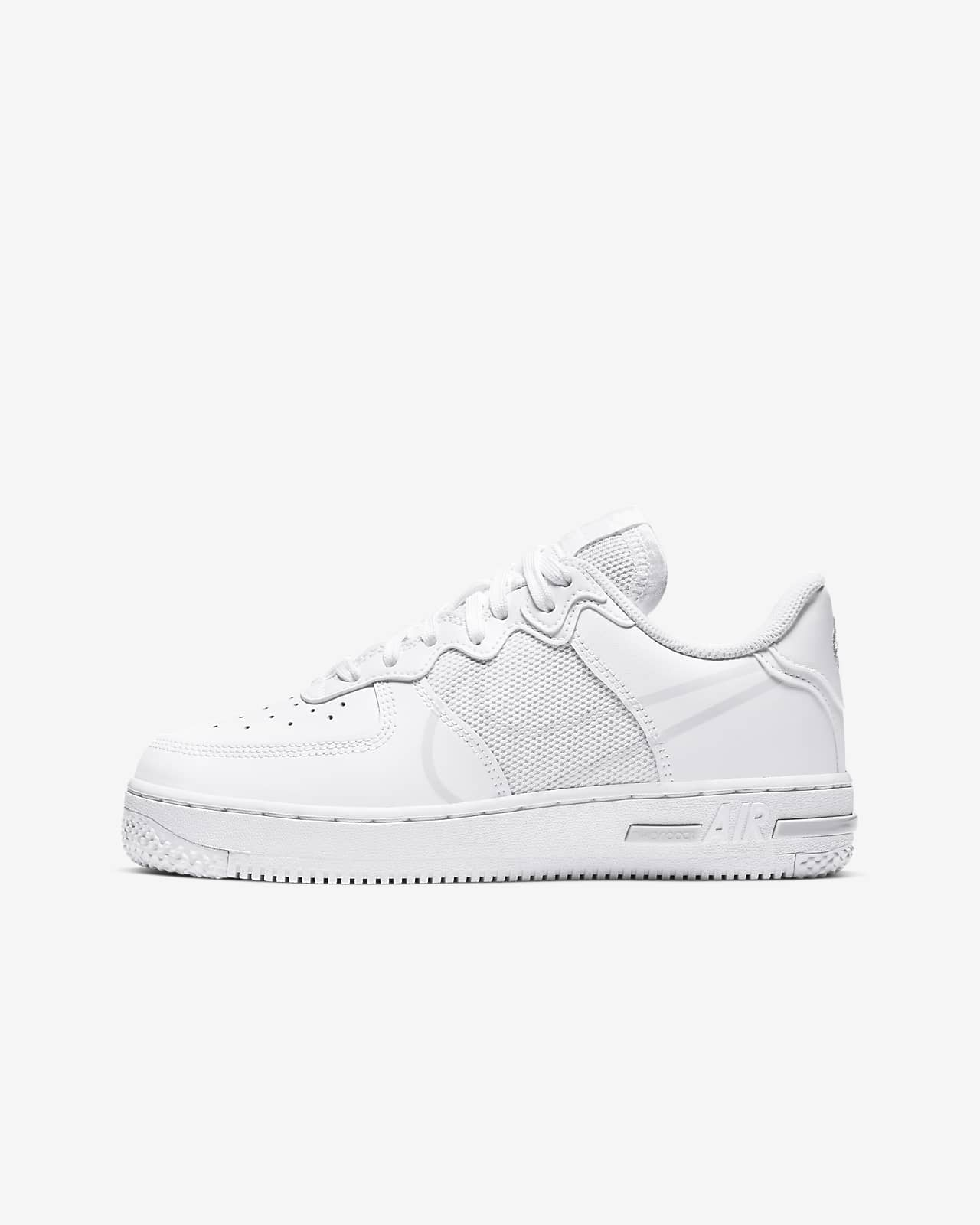 nike air force 1 react enfant