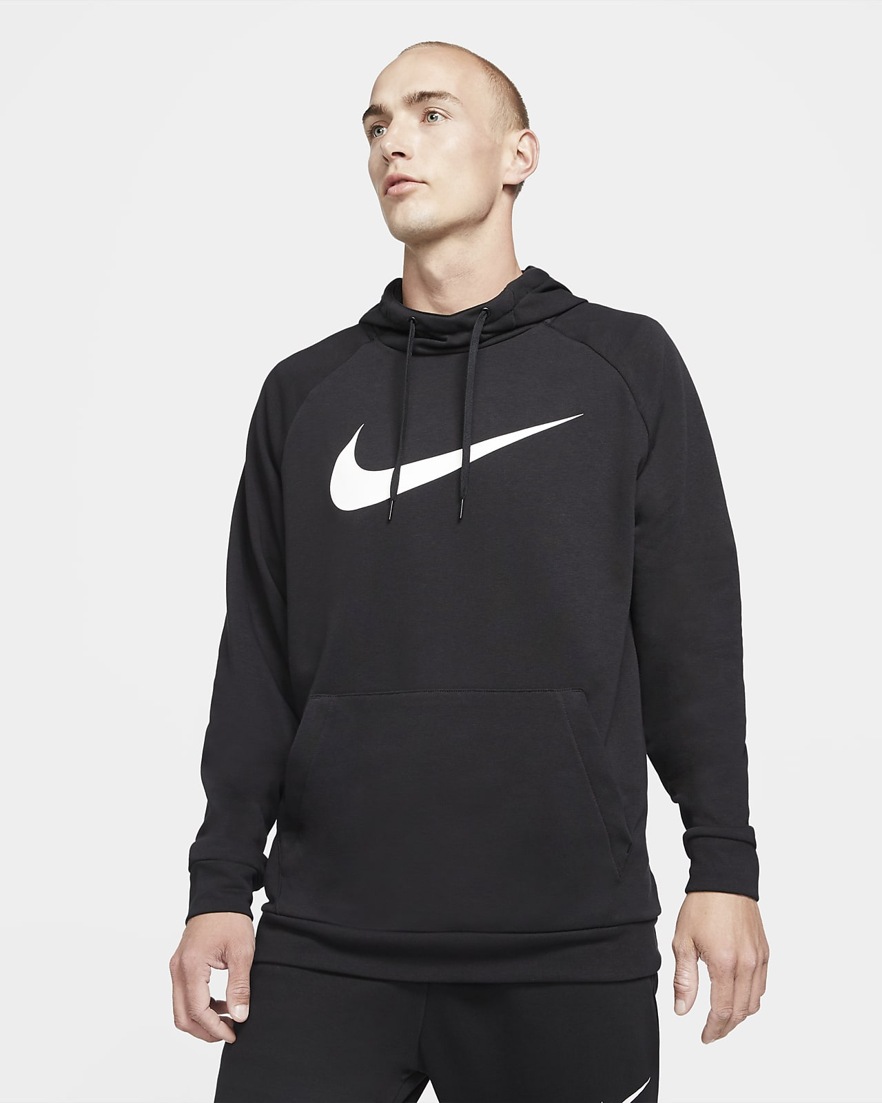 Nike Dri-FIT belebújós, kapucnis férfi edzőpulóver