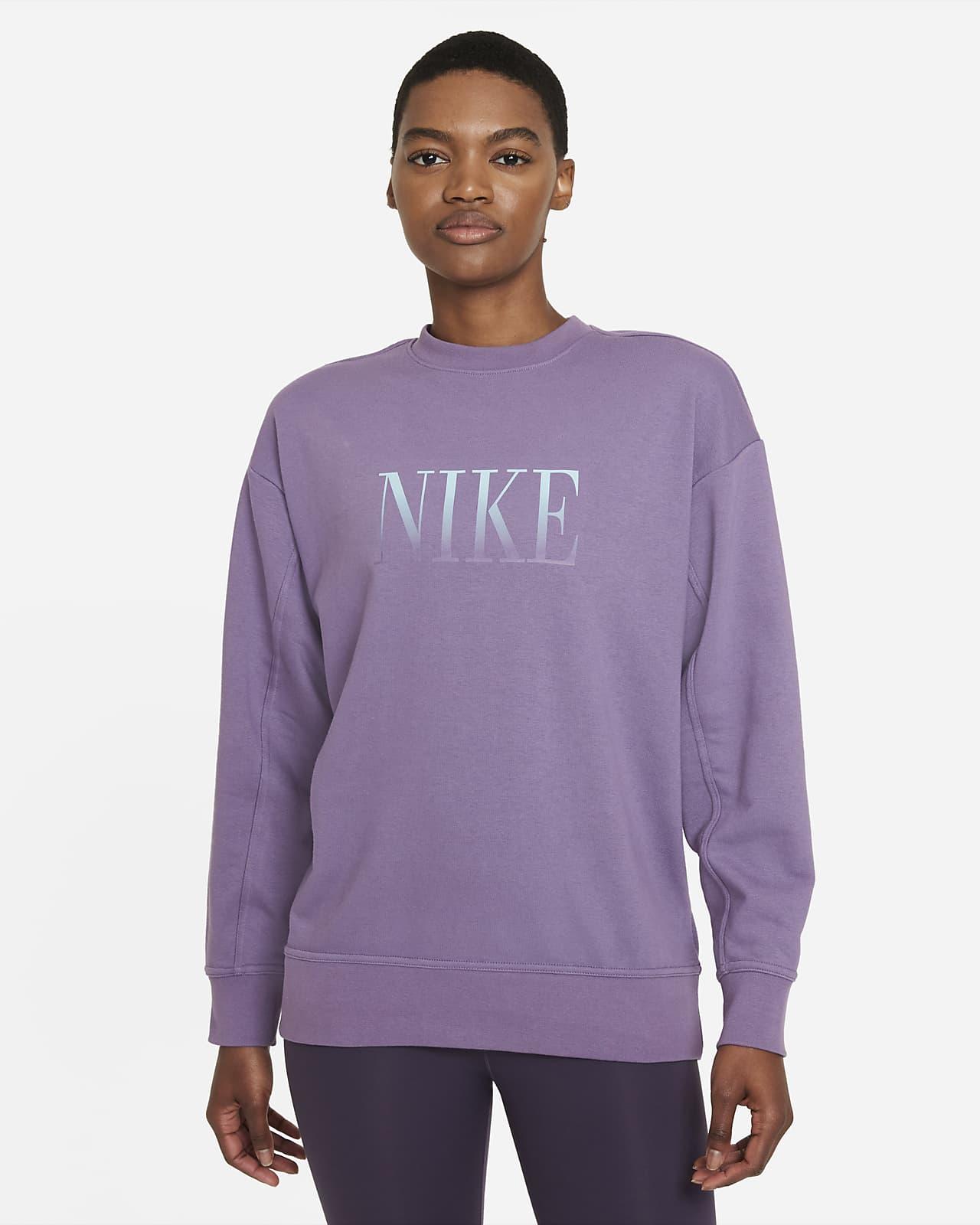Nike Dri-FIT Get Fit Trainings-Rundhalsshirt mit Grafik für Damen