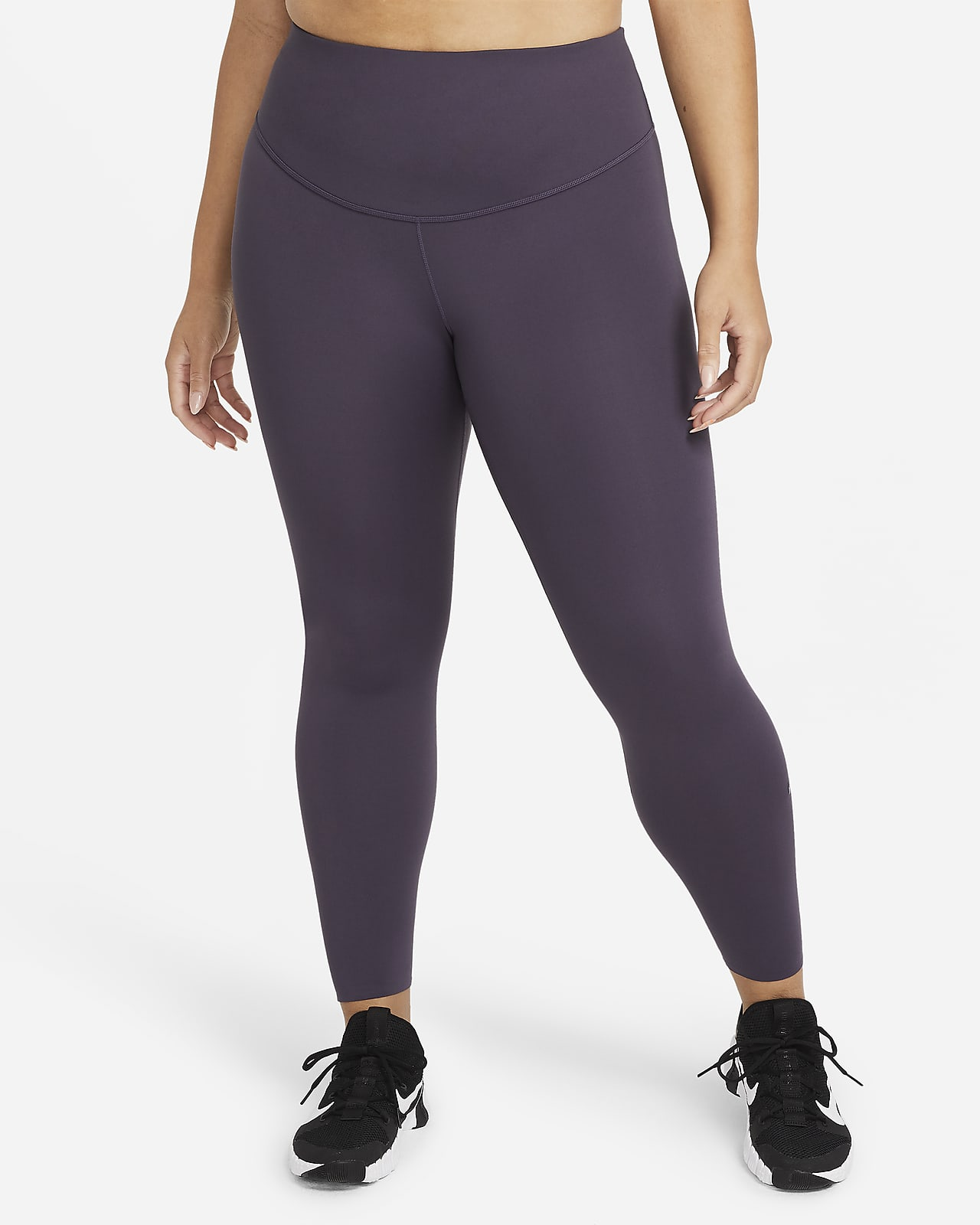 Leggings de tiro medio 7/8 para mujer Nike One Luxe (talla grande)