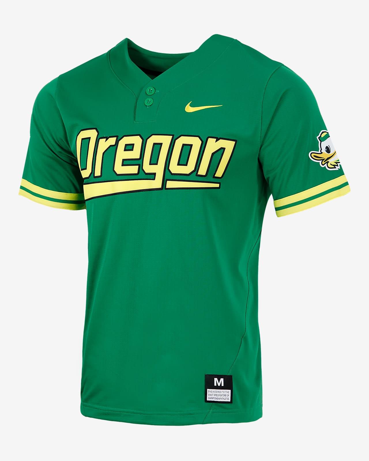Nike College (Oregon) Men's 2-Button Baseball Jersey