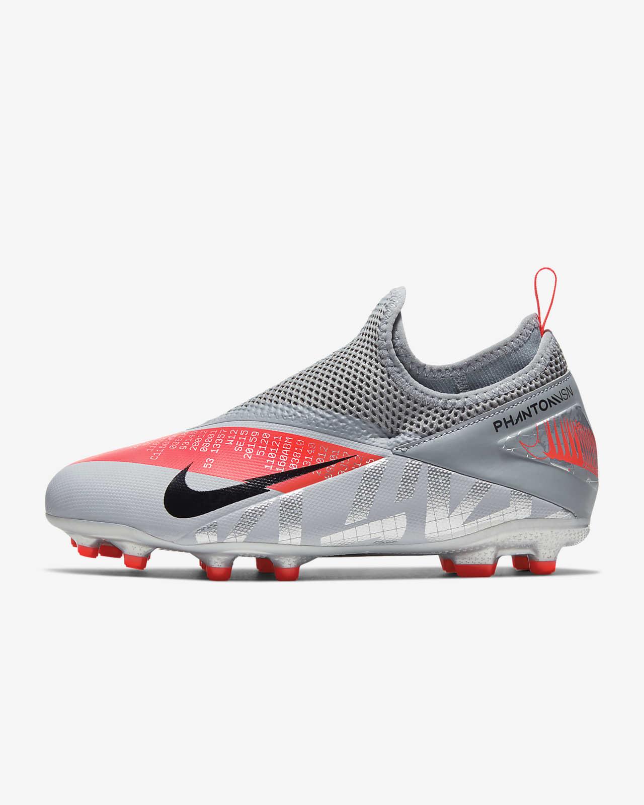 Tubería resbalón Contrapartida  Nike Jr. Phantom Vision 2 Academy Dynamic Fit MG Younger/Older Kids'  Multi-Ground Football Boot. Nike SA