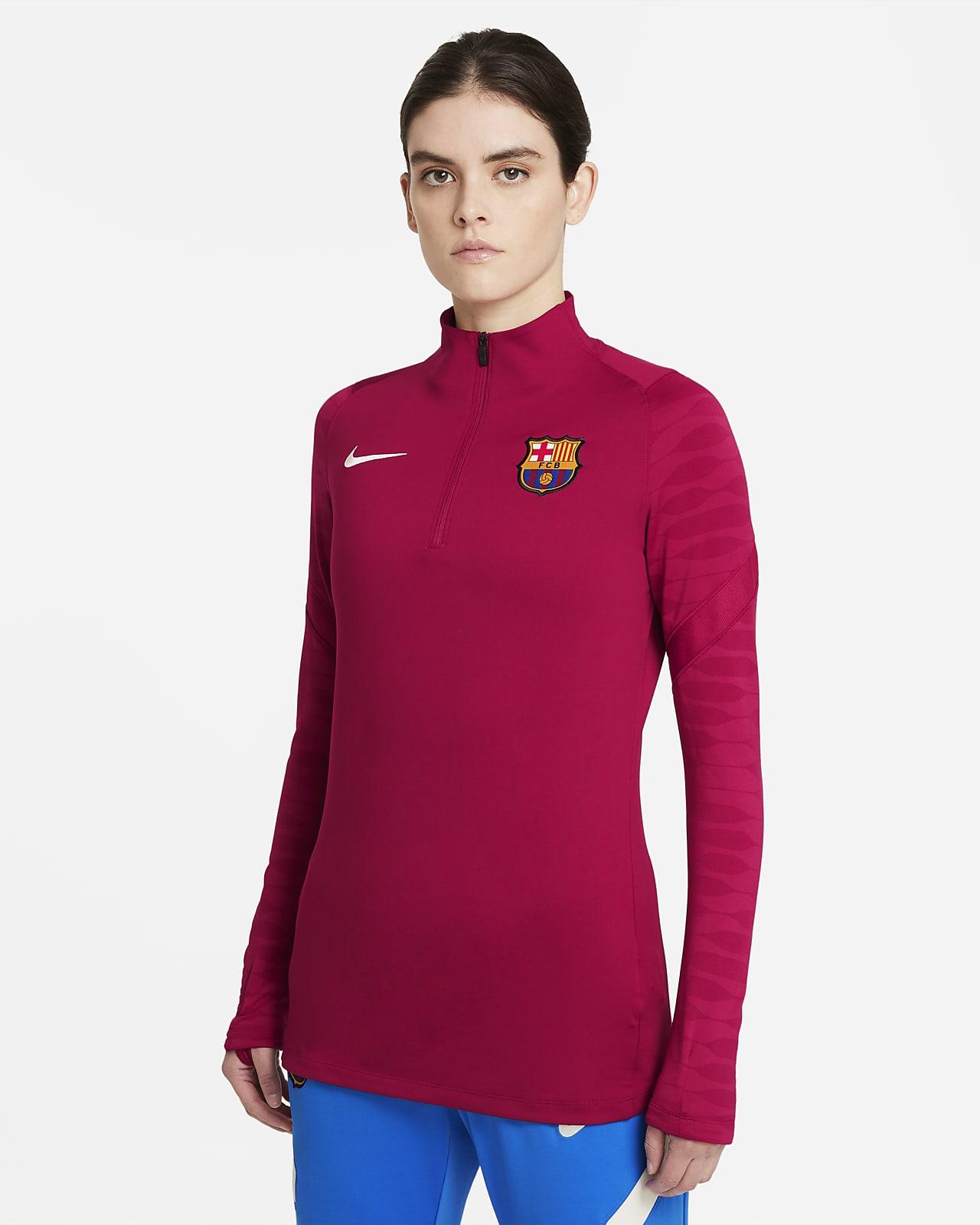 F.C. Barcelona Strike Women's Football Drill Top