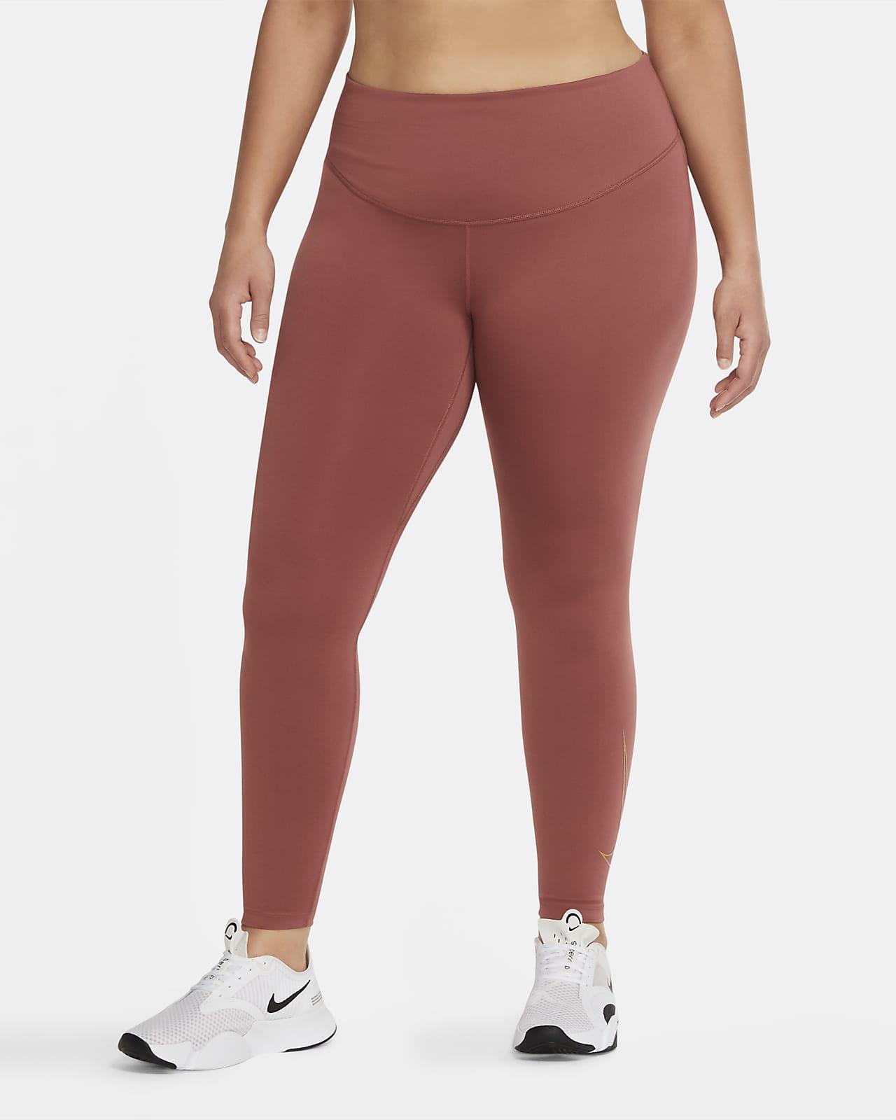 Leggings para mujer Nike One Icon Clash (talla grande)