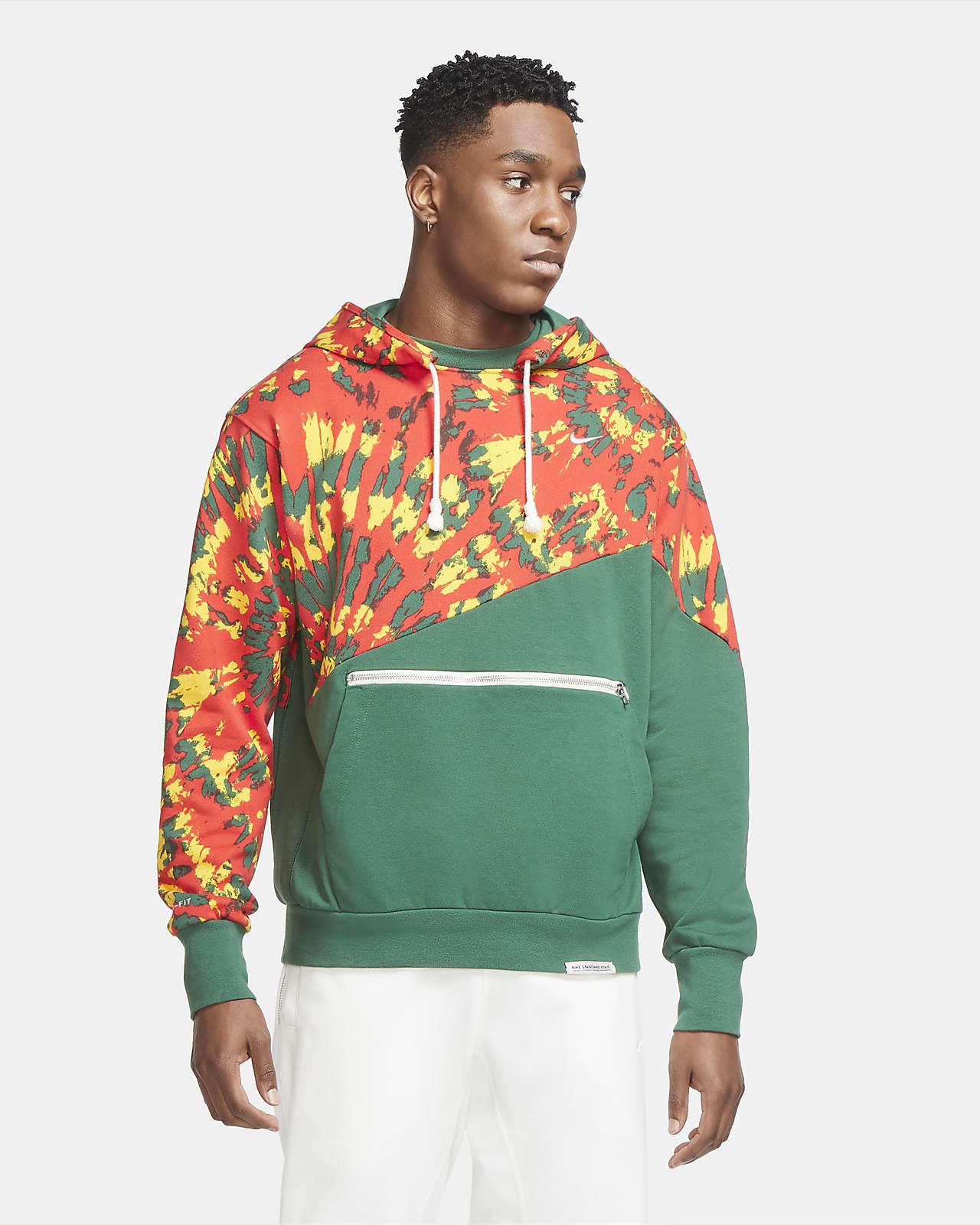 Sudadera con capucha de básquetbol sin cierre para hombre Nike Throwback
