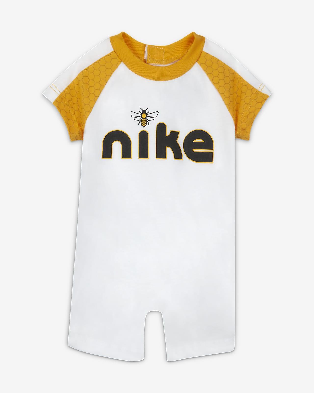 """Nike """"Little Bugs"""" Baby (0-9M) Romper"""