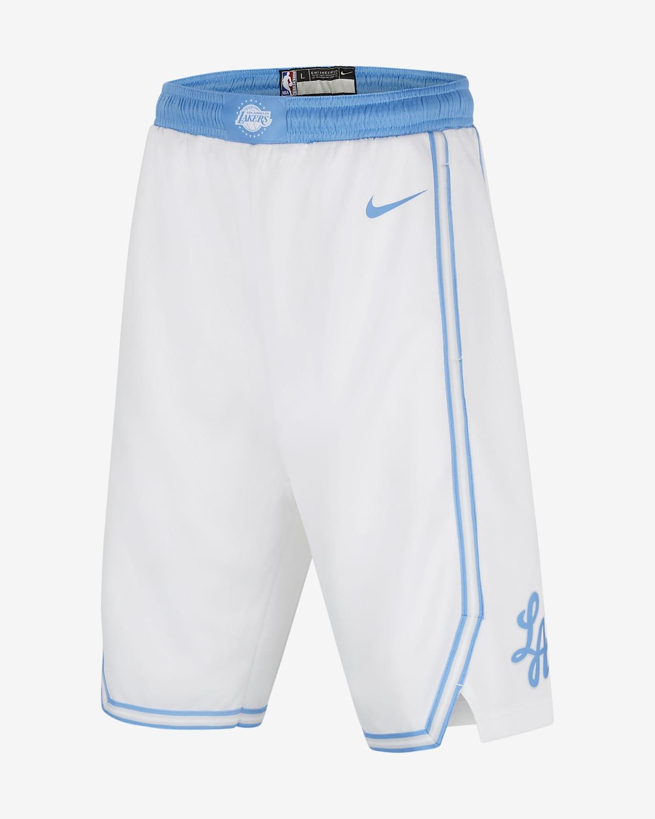 Los Angeles Lakers City Edition Older Kids' Nike NBA Swingman Shorts