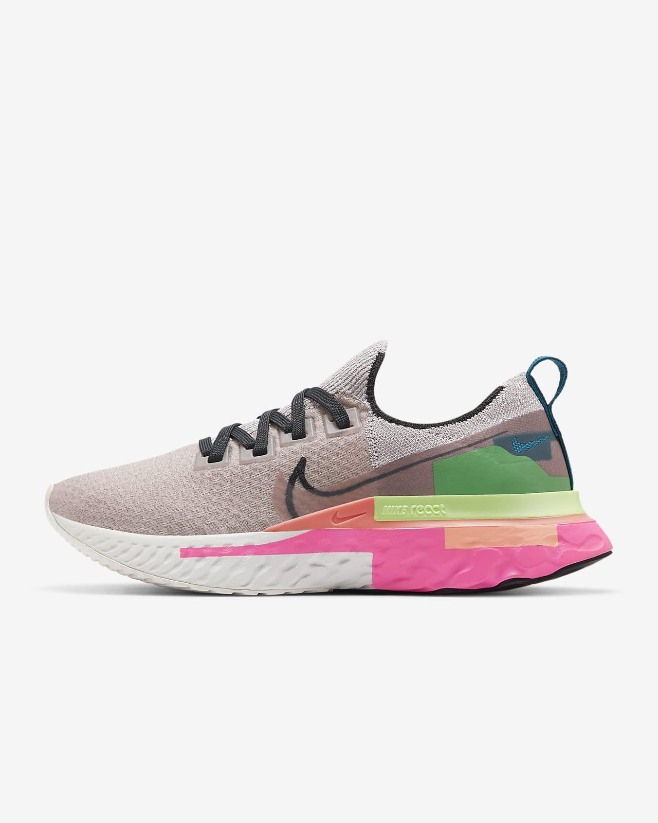 รองเท้าวิ่งผู้หญิง Nike React Infinity Run Flyknit Premium