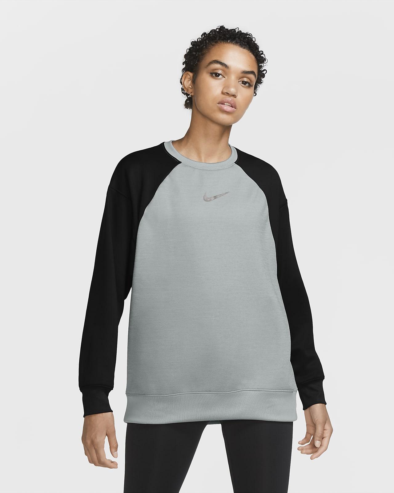 Nike Therma – træningscrewtrøje til kvinder