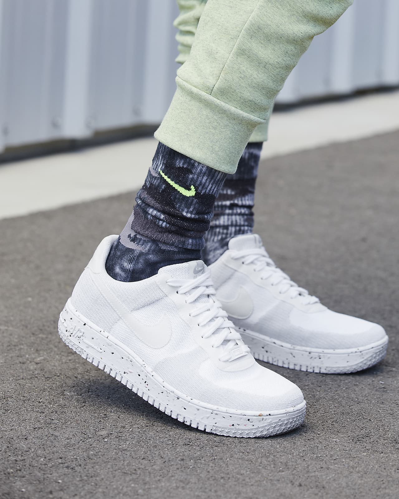 Nike Air Force 1 Crater FlyKnit Men's Shoes. Nike.com