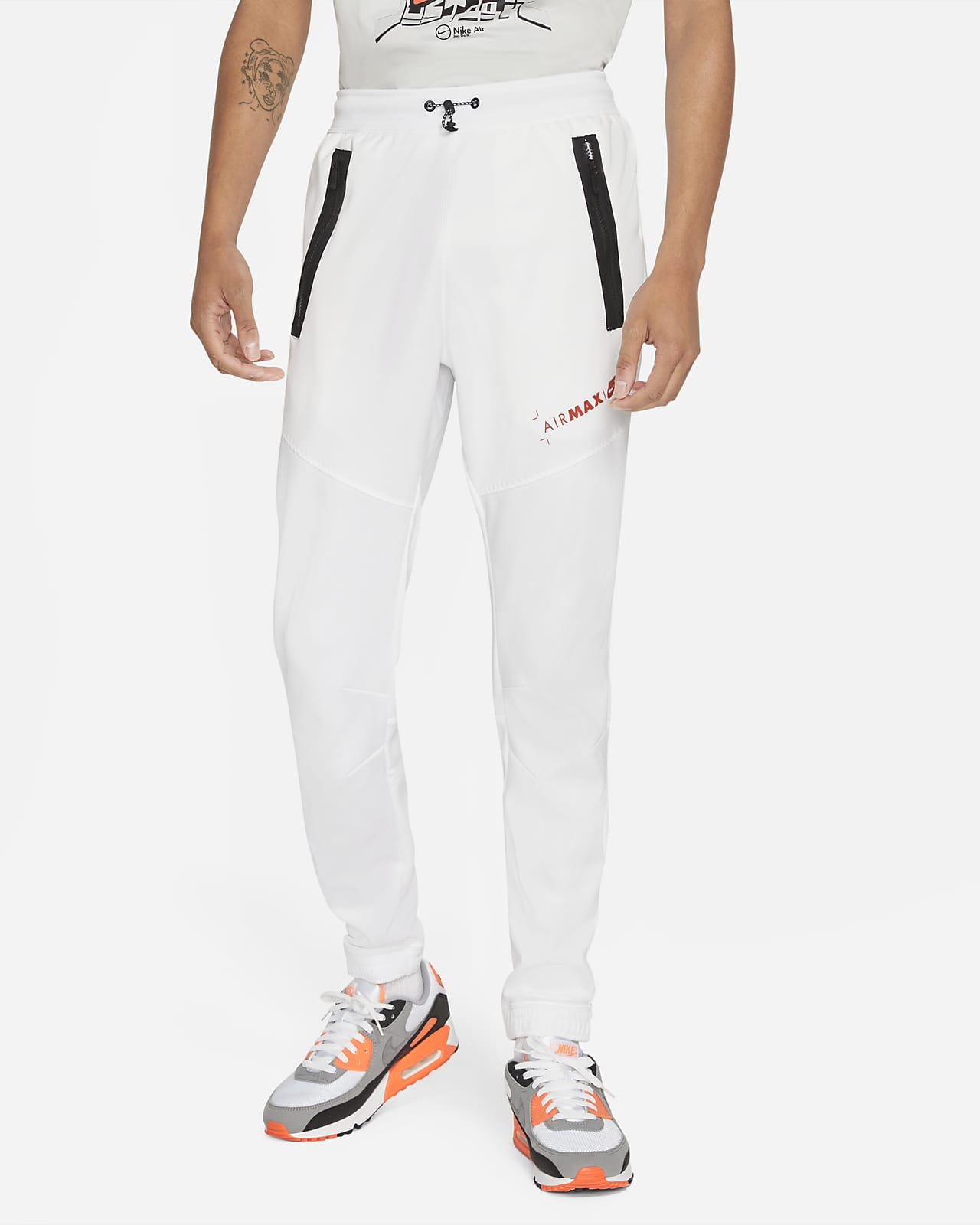 Nike Sportswear Air Max Men's Fleece Trousers. Nike LU