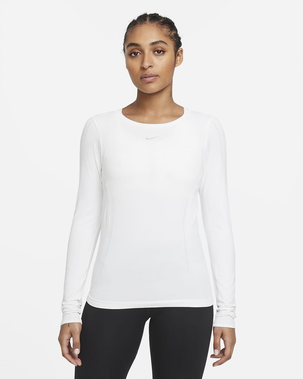 Женская футболка с длинным рукавом и плотной посадкой Nike Dri-FIT ADV Aura