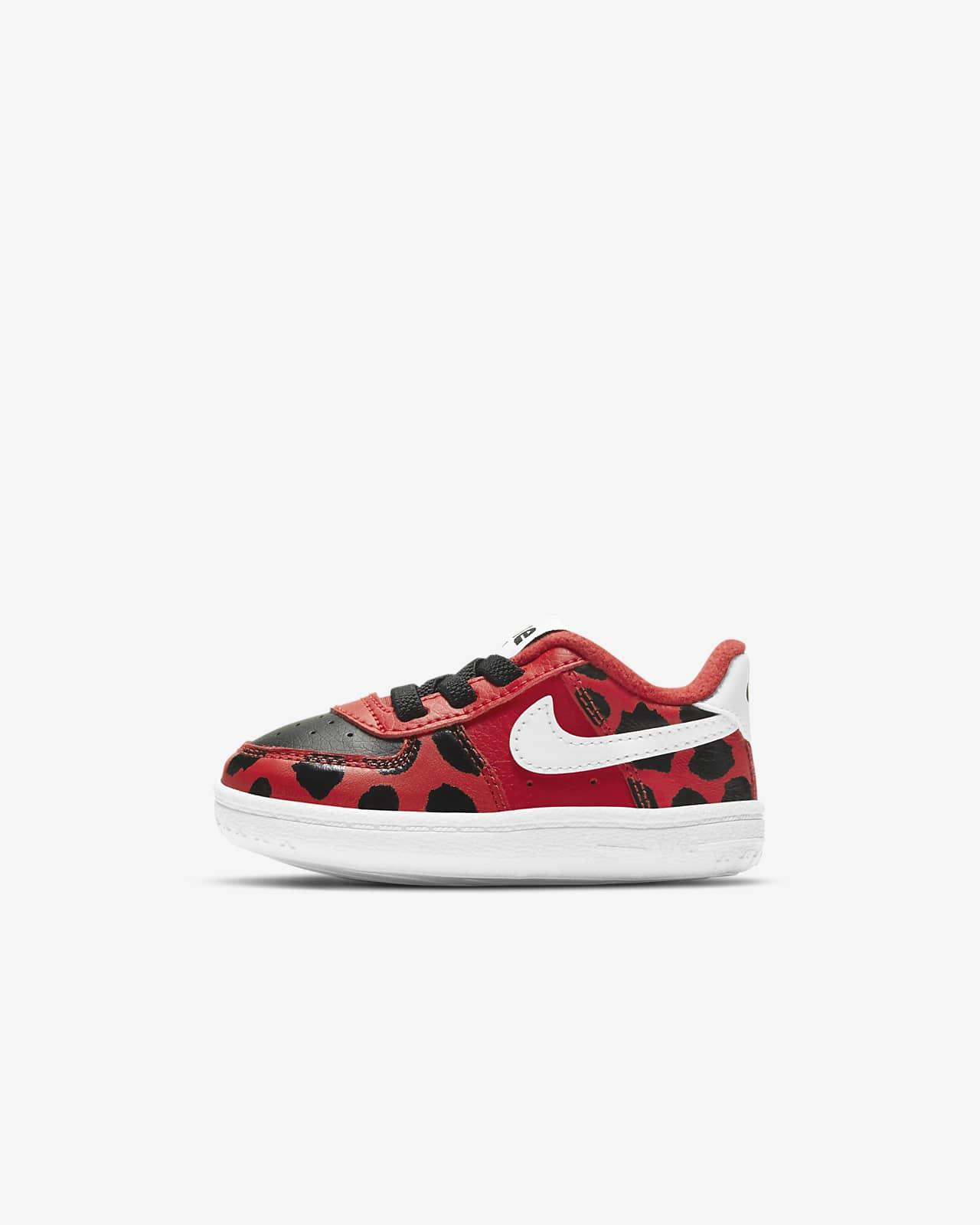 "Nike Force 1 SE ""Little Bugs"" Baby Crib Shoe"