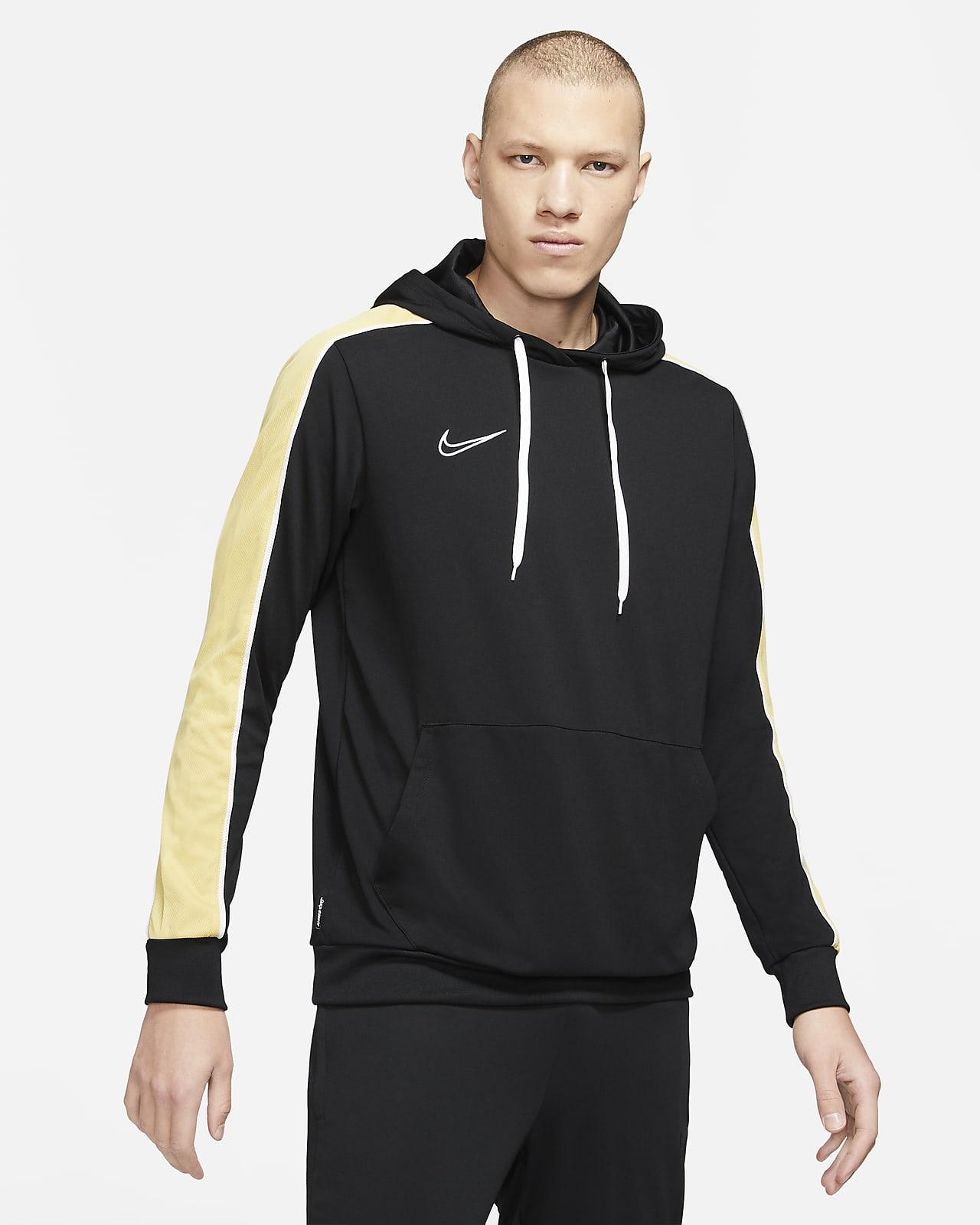 Felpa pullover da calcio con cappuccio Nike Dri-FIT Academy - Uomo