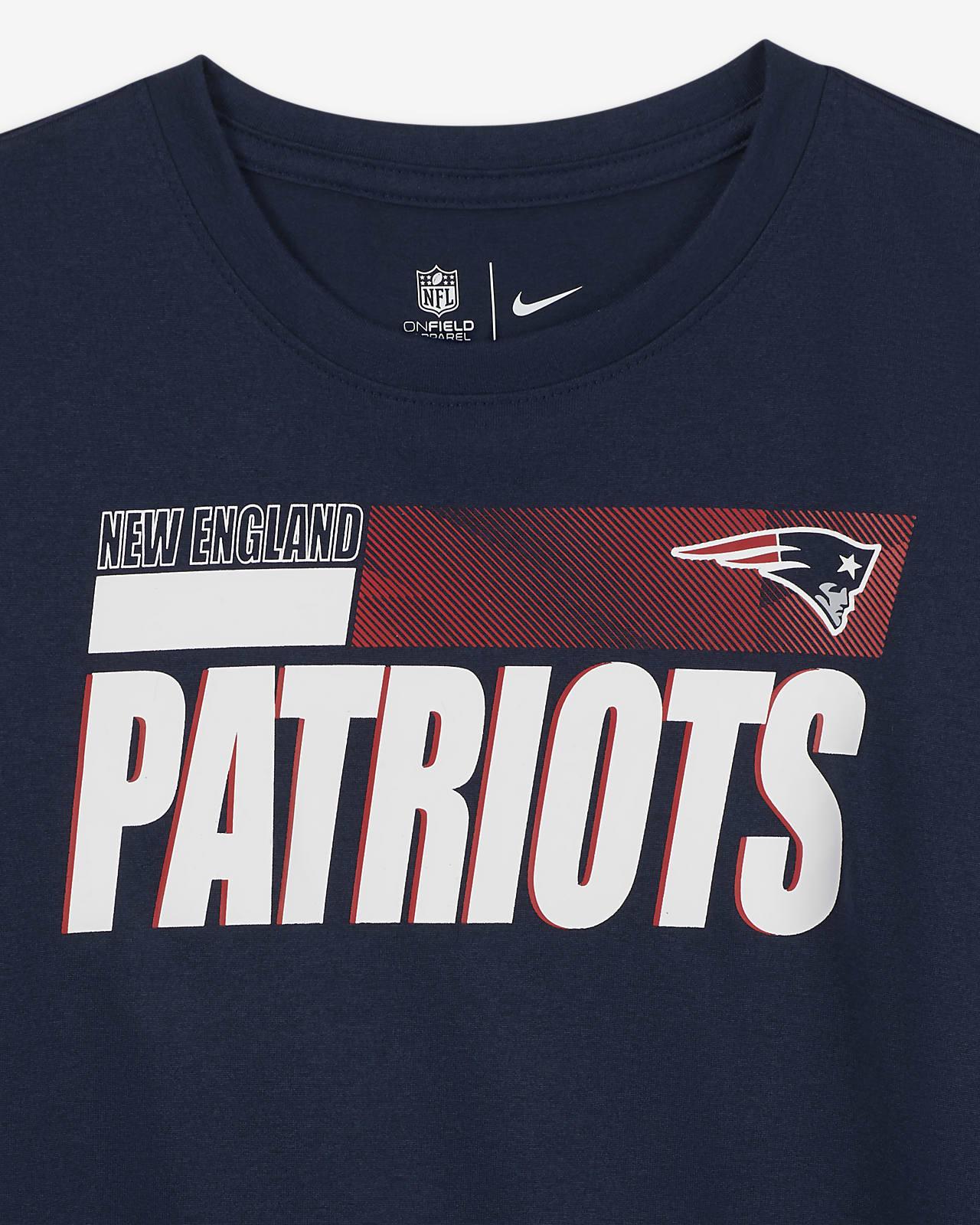 paleta Contradecir pómulo  Nike Legend Sideline (NFL New England Patriots) Camiseta - Niño. Nike ES