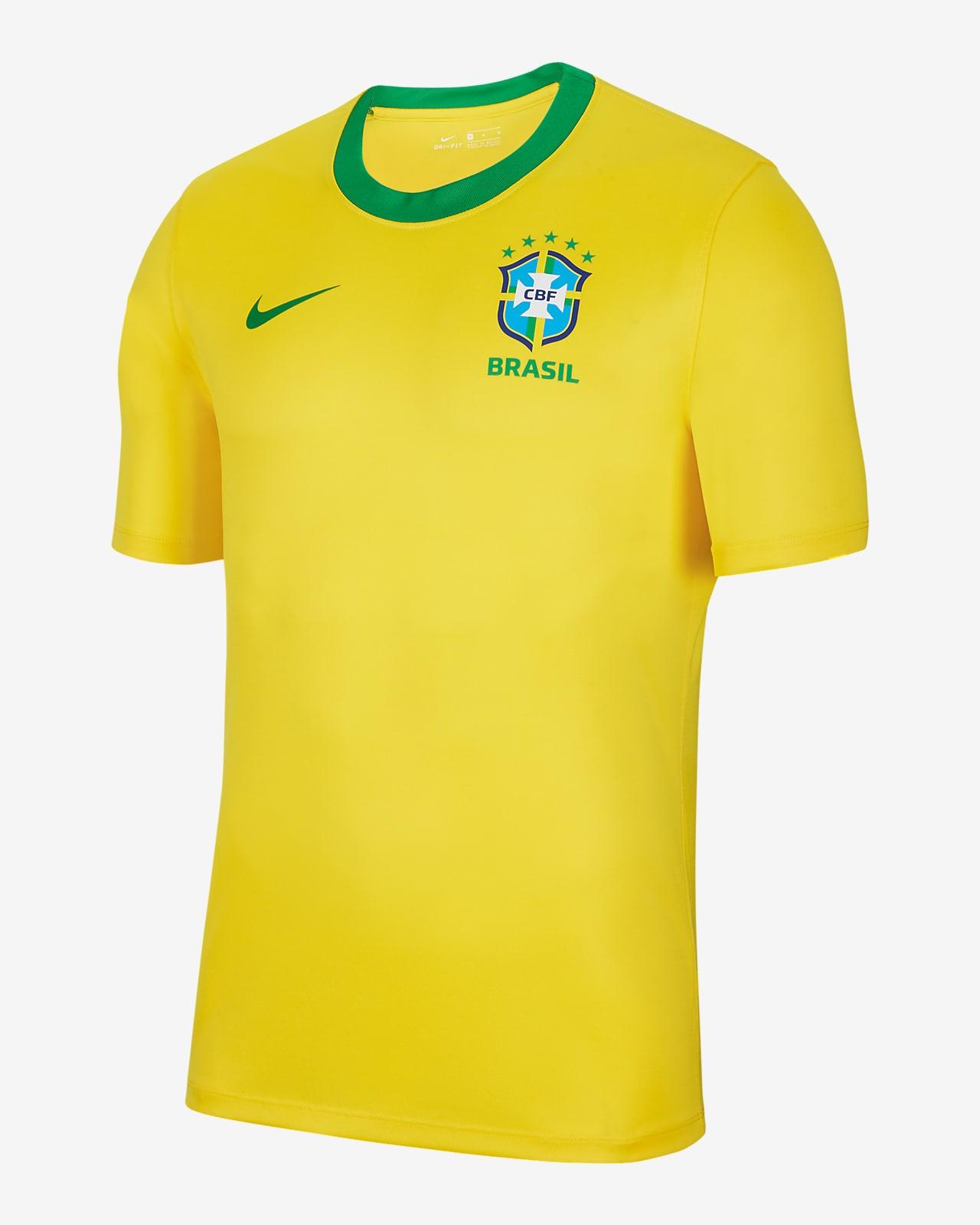 เสื้อฟุตบอลแขนสั้นผู้ชาย Brasil Home