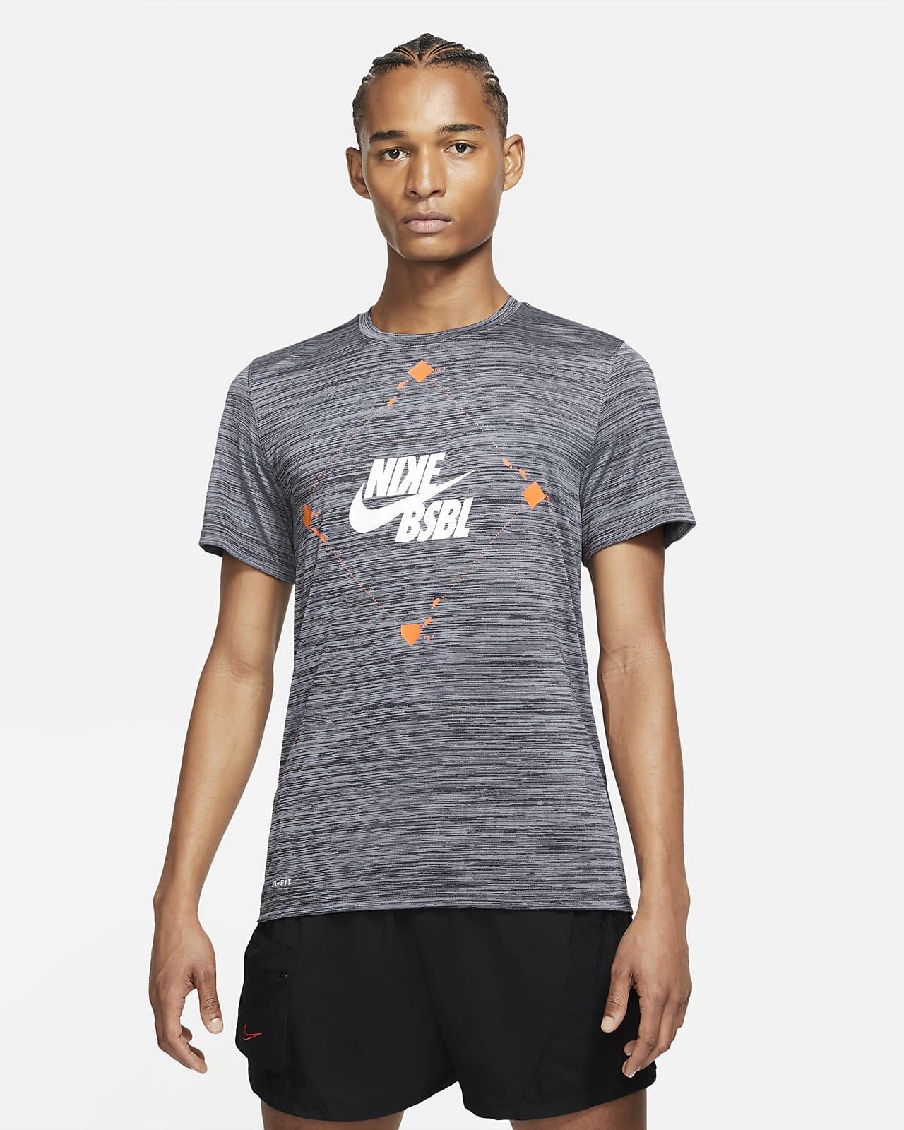 Playera de béisbol para hombre Nike Velocity
