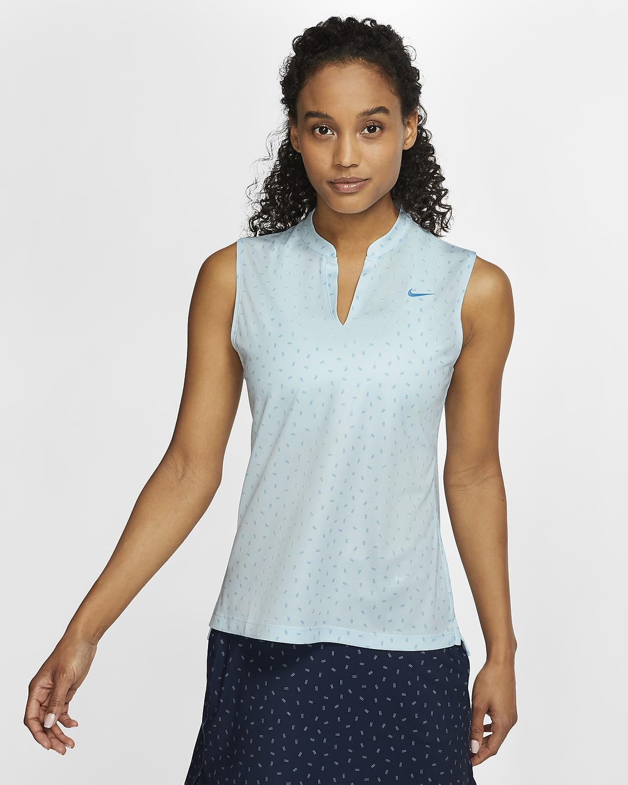 Nike Dri-FIT Victory Women's Sleeveless Printed Golf Polo