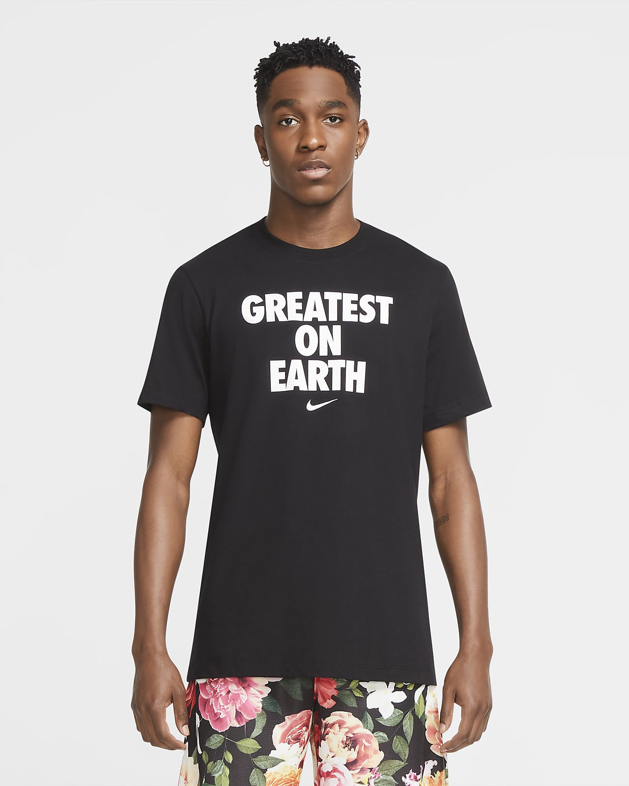 Tee-shirt de basketball Nike Dri-FIT « Greatest On Earth » pour Homme