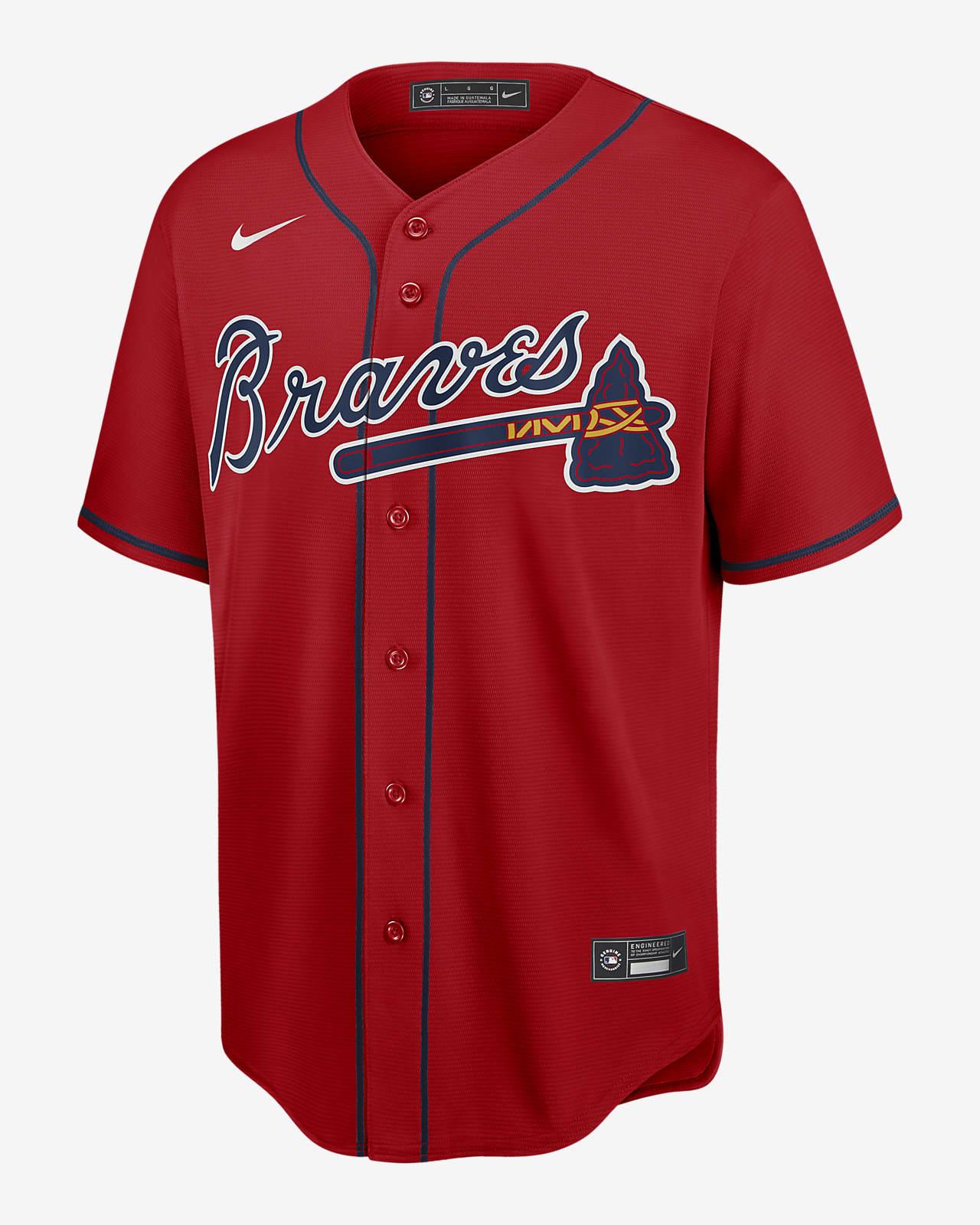 MLB Atlanta Braves (Freddie Freeman) Men's Replica Baseball Jersey