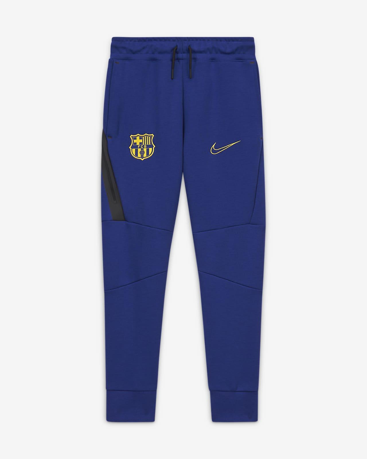 Pantalones de tejido Fleece para niños talla grande FC Barcelona