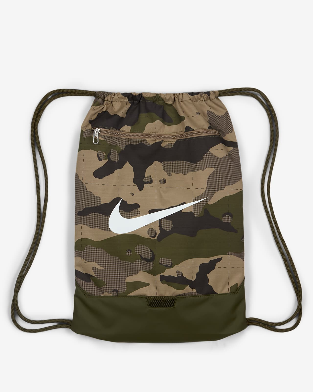 ถุงผ้าสำหรับยิมลายพราง Nike Brasilia