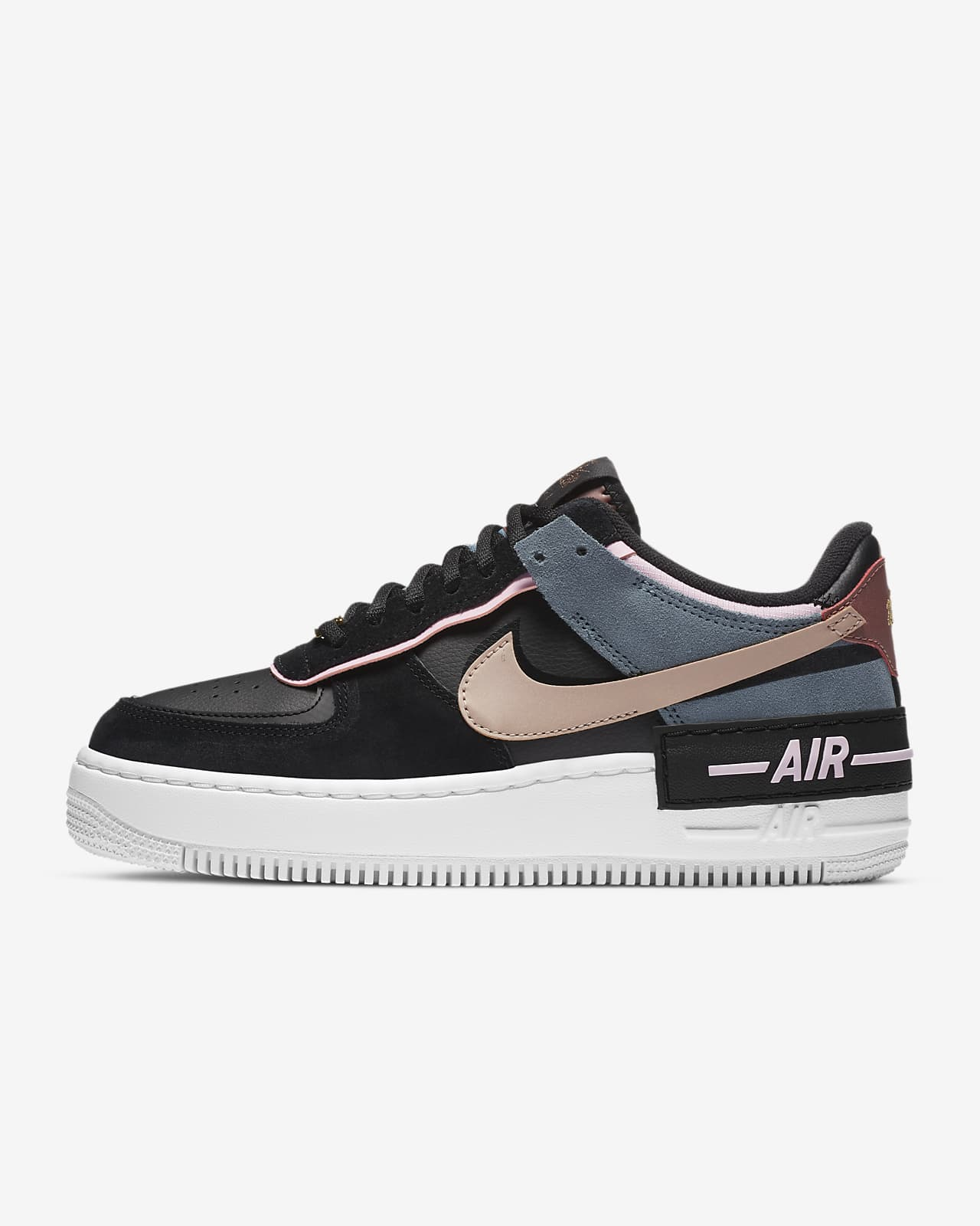 Nike Air Force 1 Shadow Women S Shoe Nike Id Nike wmns af1 shadow black light arctic pink air force 1 womens shoes cu5315 001top rated seller. nike air force 1 shadow women s shoe