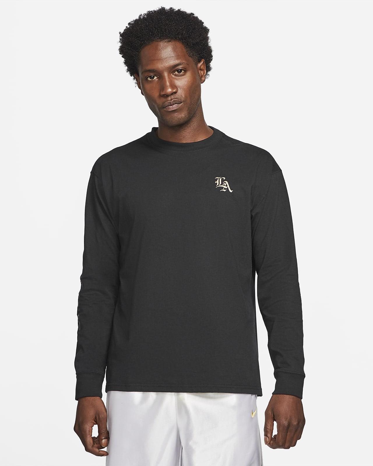 LeBron Men's Long-Sleeve Basketball T-Shirt. Nike SA