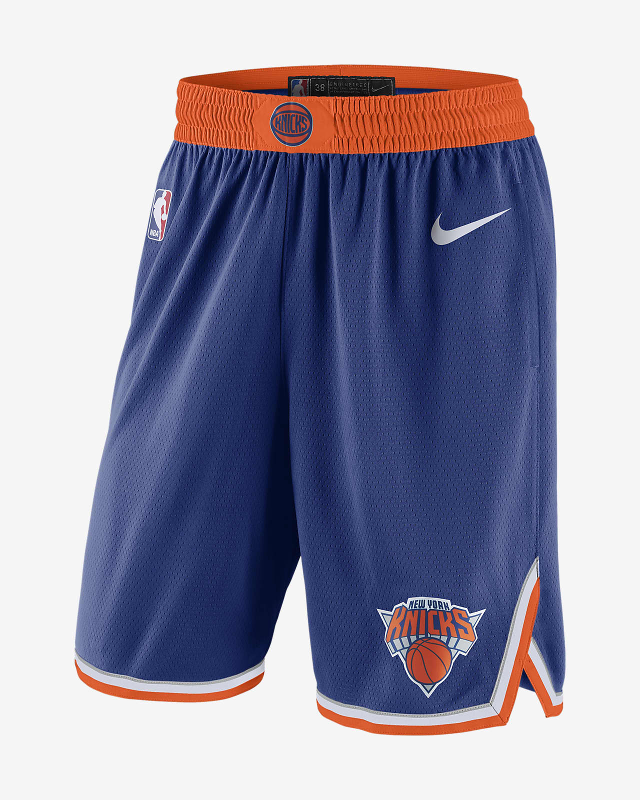New York Knicks Icon Edition Men's Nike NBA Swingman Shorts