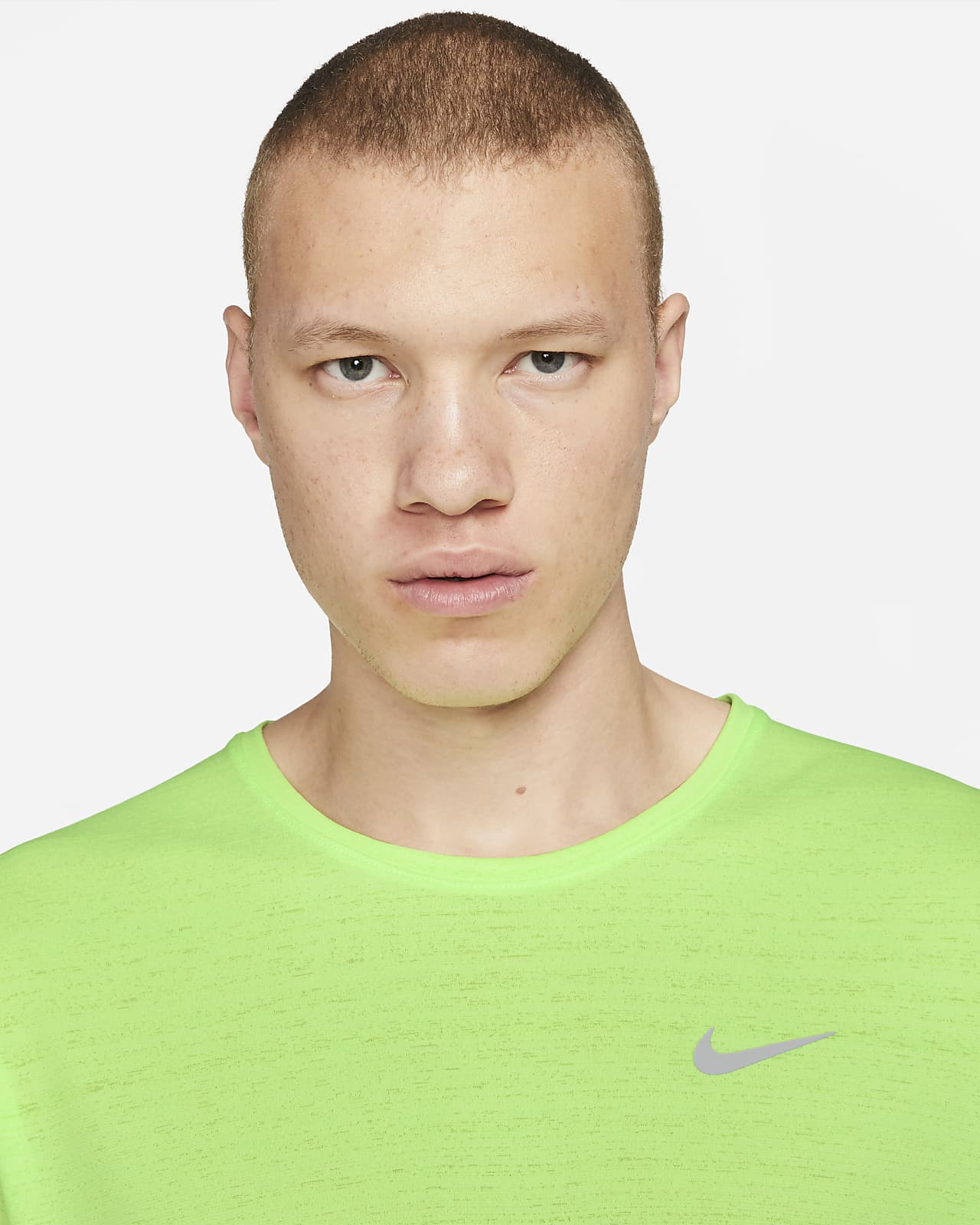 Nike Dri-FIT Miler løpeoverdel til herre