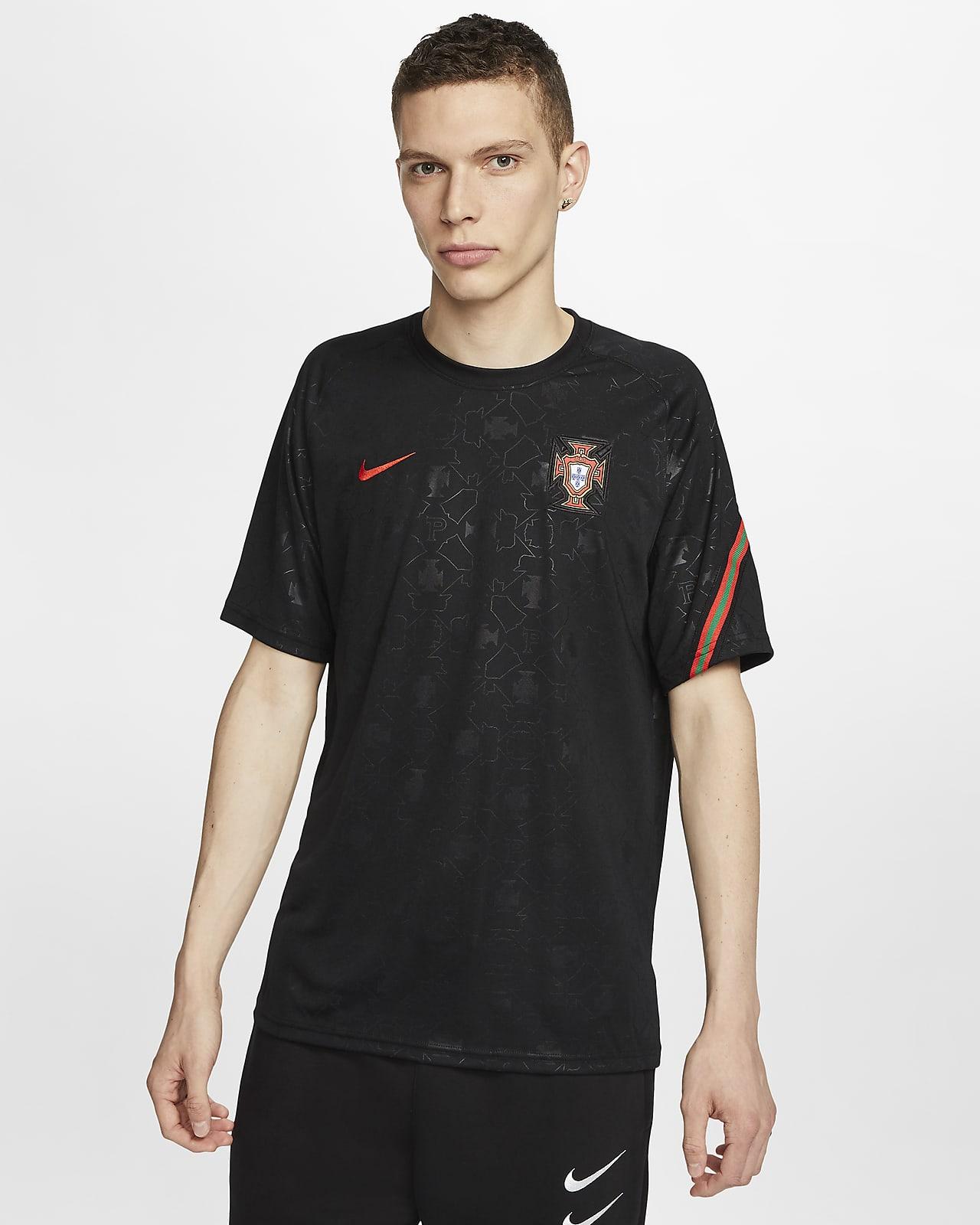 Camisola de futebol de manga curta Portugal para homem