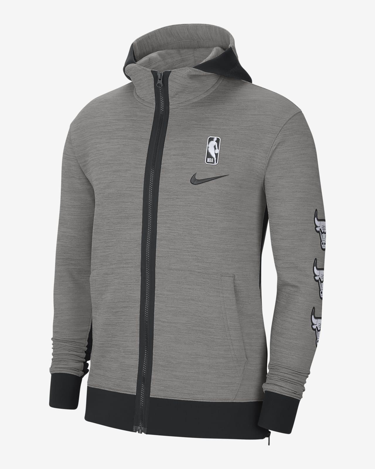Chicago Bulls Showtime Nike Therma Flex NBA-Hoodie für Herren
