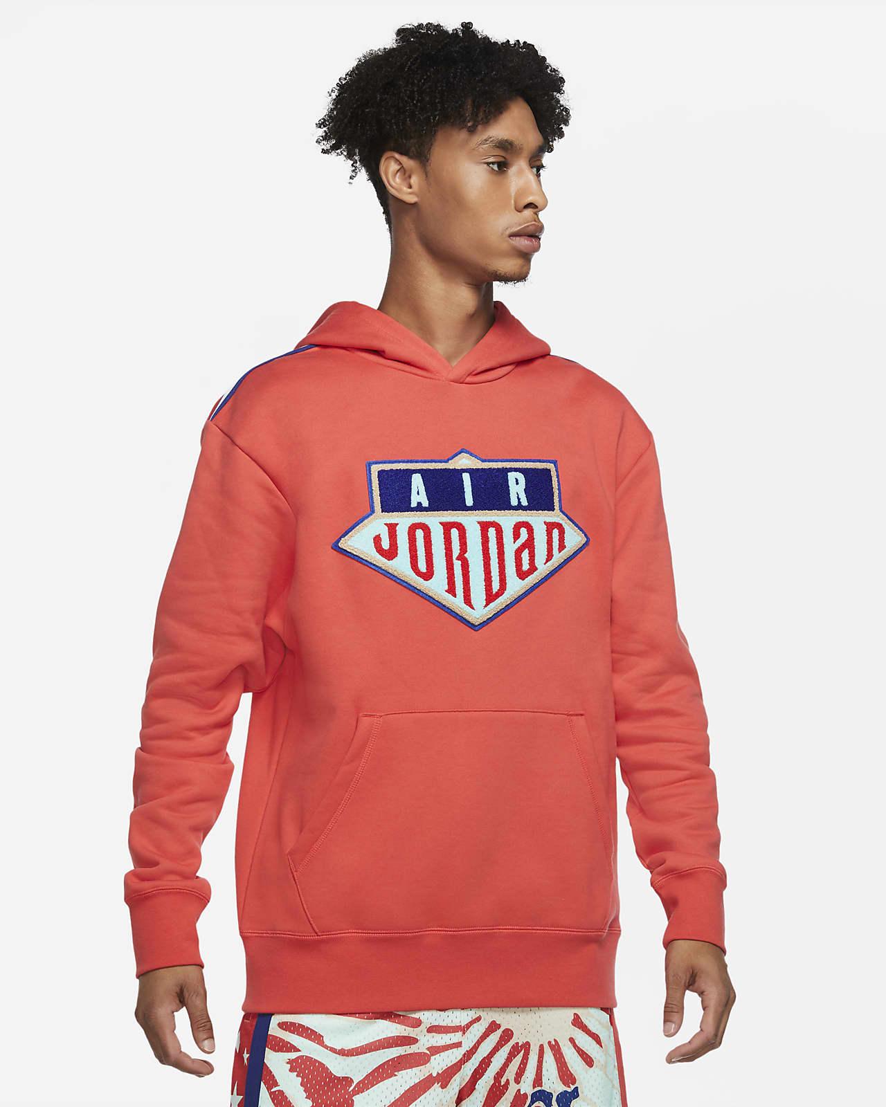 Ανδρική μπλούζα με κουκούλα Jordan Sport DNA