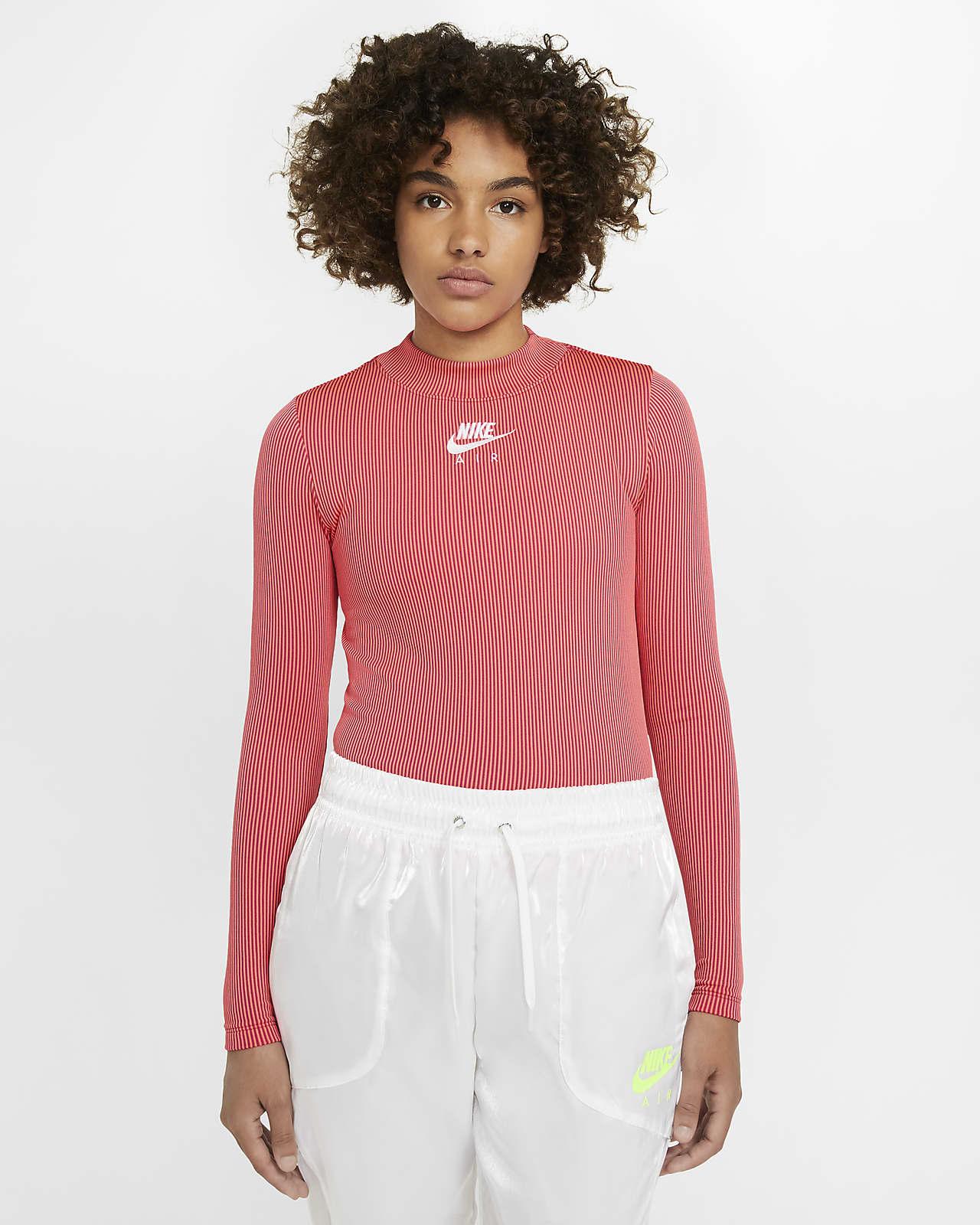 Nike Air Women's Mock Neck Long Sleeve