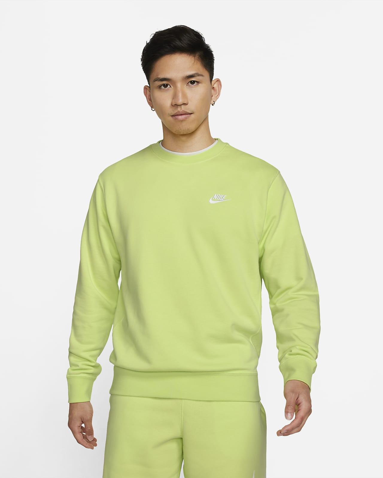 Nike Sportswear Club French Terry 男子圆领上衣