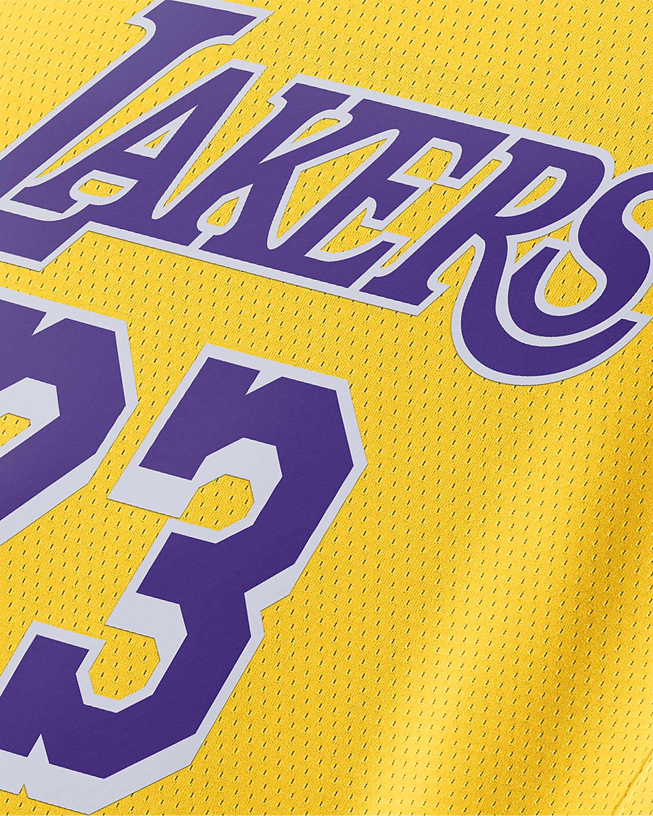 LeBron James Lakers Icon Edition 2020 Nike NBA Swingman Jersey ...