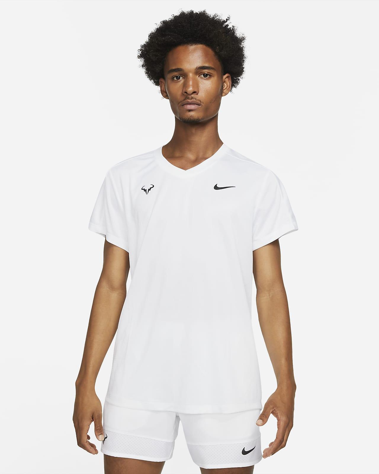 Rafa Challenger kortermet tennisoverdel til herre