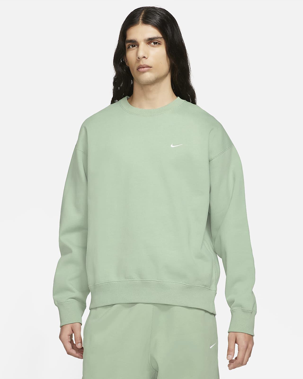 NikeLab Fleece-Rundhalsshirt