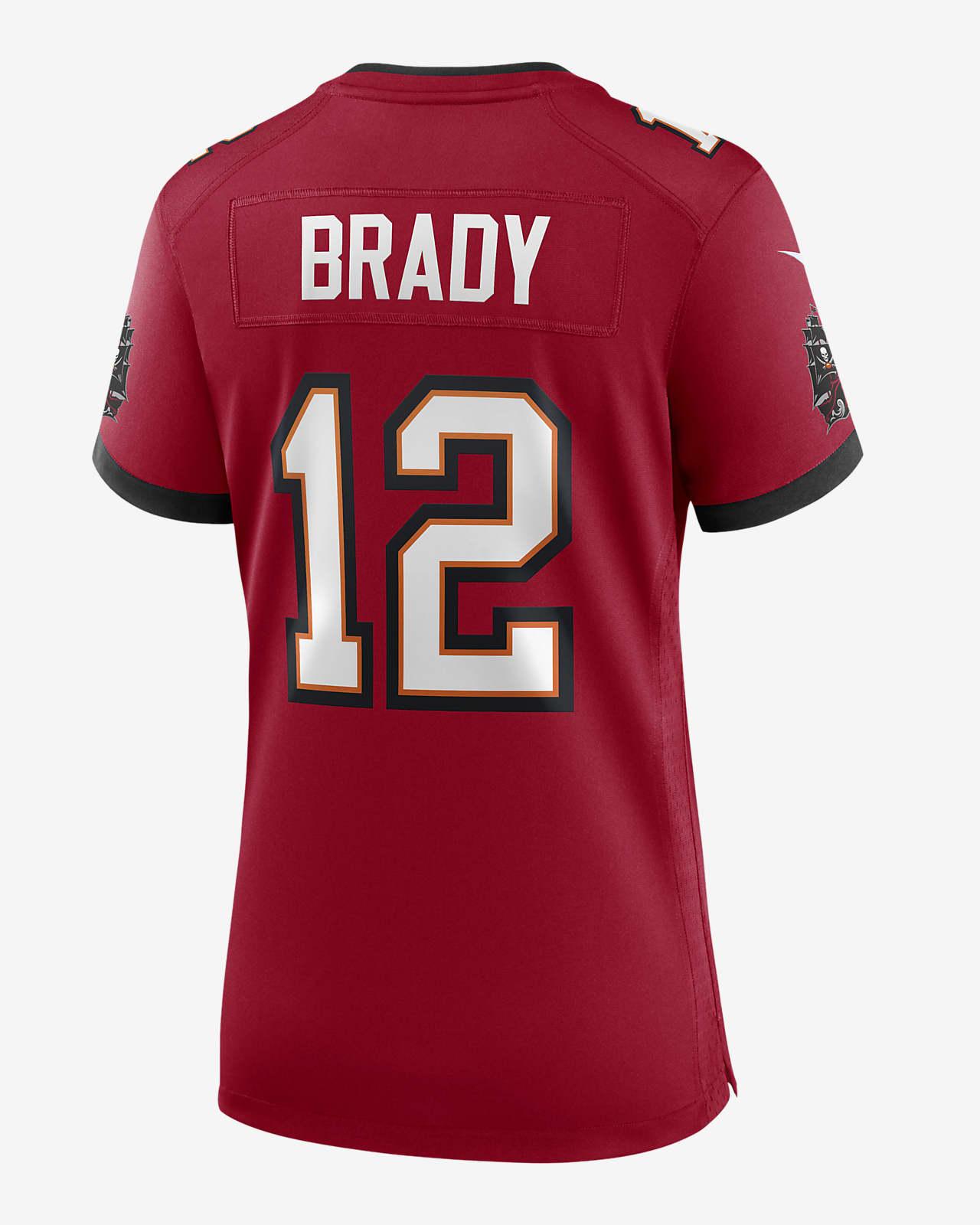 NFL Tampa Bay Buccaneers (Tom Brady) Women's Game Football Jersey