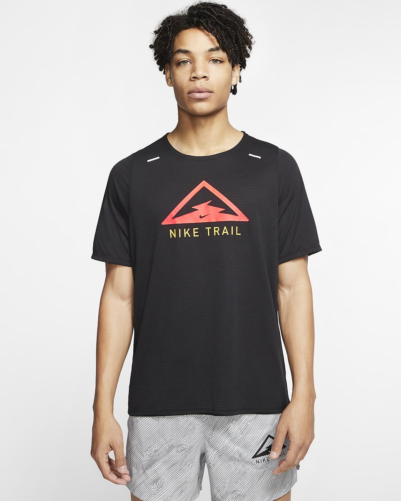 Nike Rise 365 Trail-trailløbeoverdel til mænd