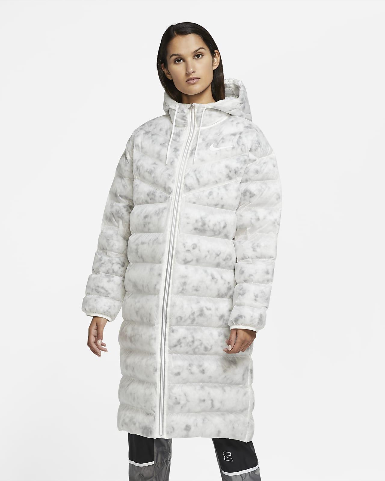 Parka para mujer Nike Sportswear Marble EcoDown